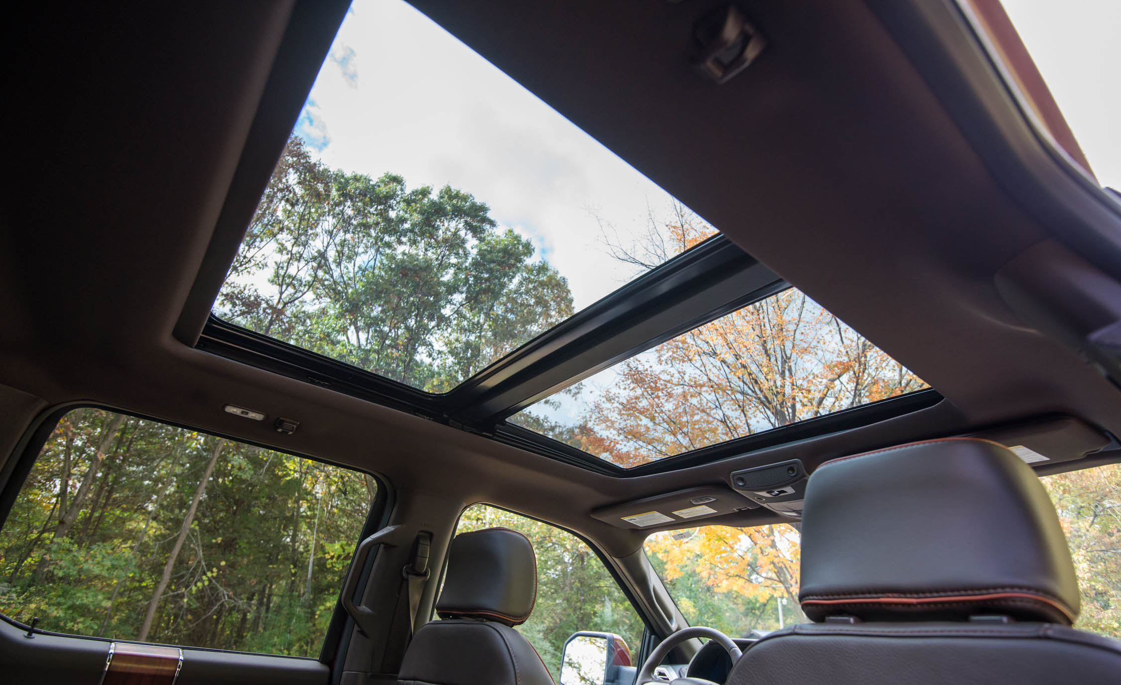 2017 Ford F 150 King Ranch Interior View Sunroof (Photo 2 of 50)