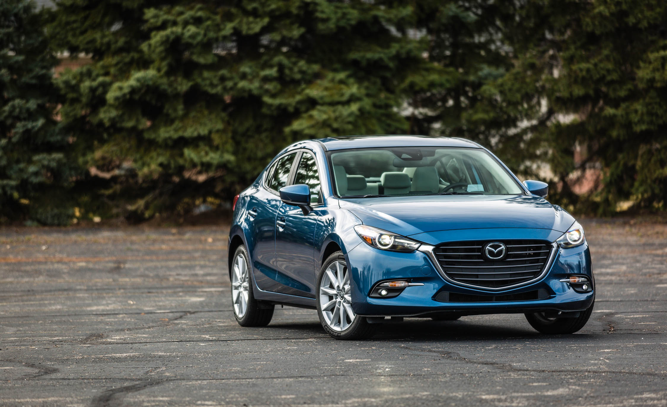 2017 Mazda 3 Grand Touring Sedan Exterior Blue Metallic (Photo 1 of 51)