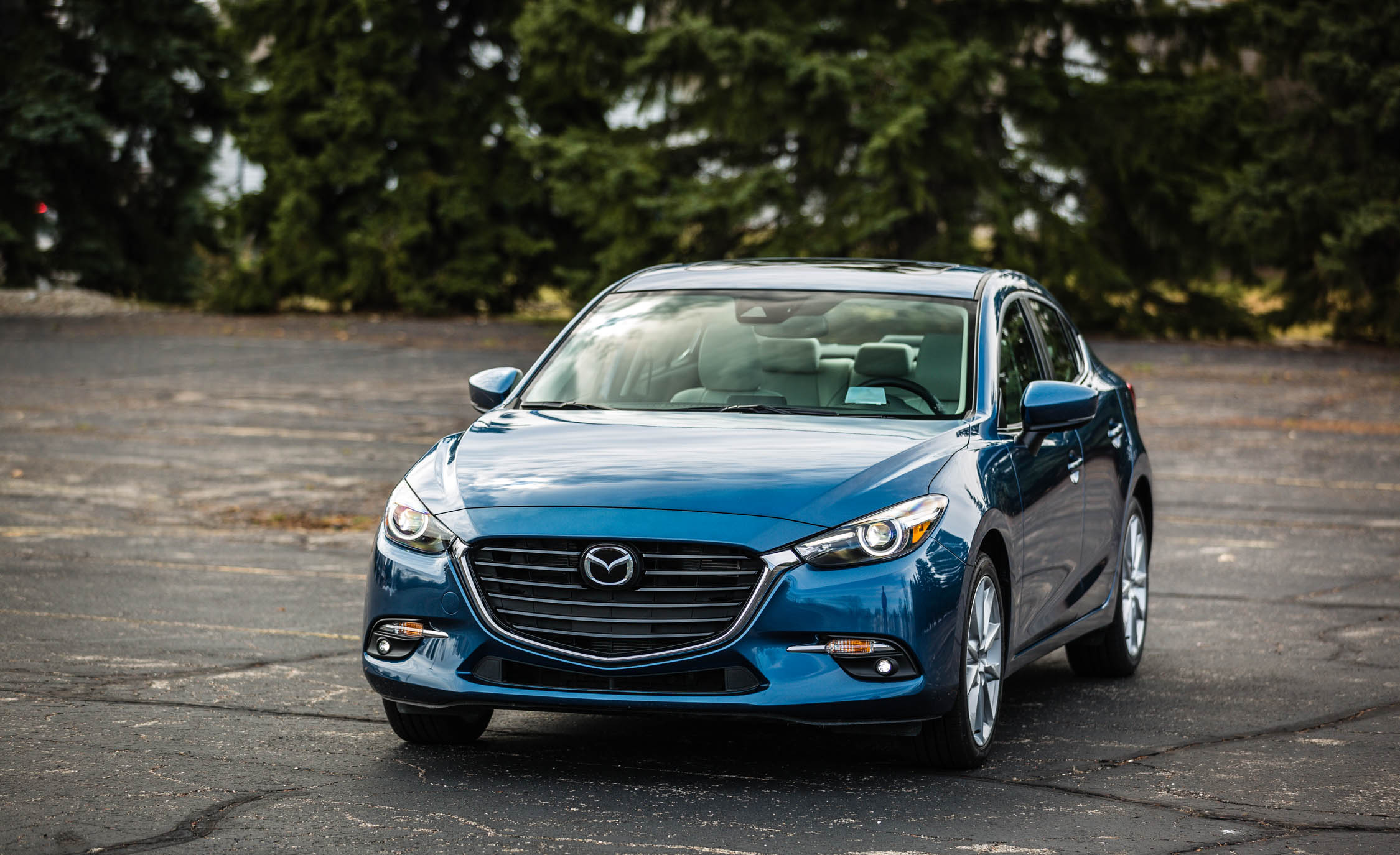 2017 Mazda 3 Grand Touring Sedan Exterior Front And Side (View 4 of 51)