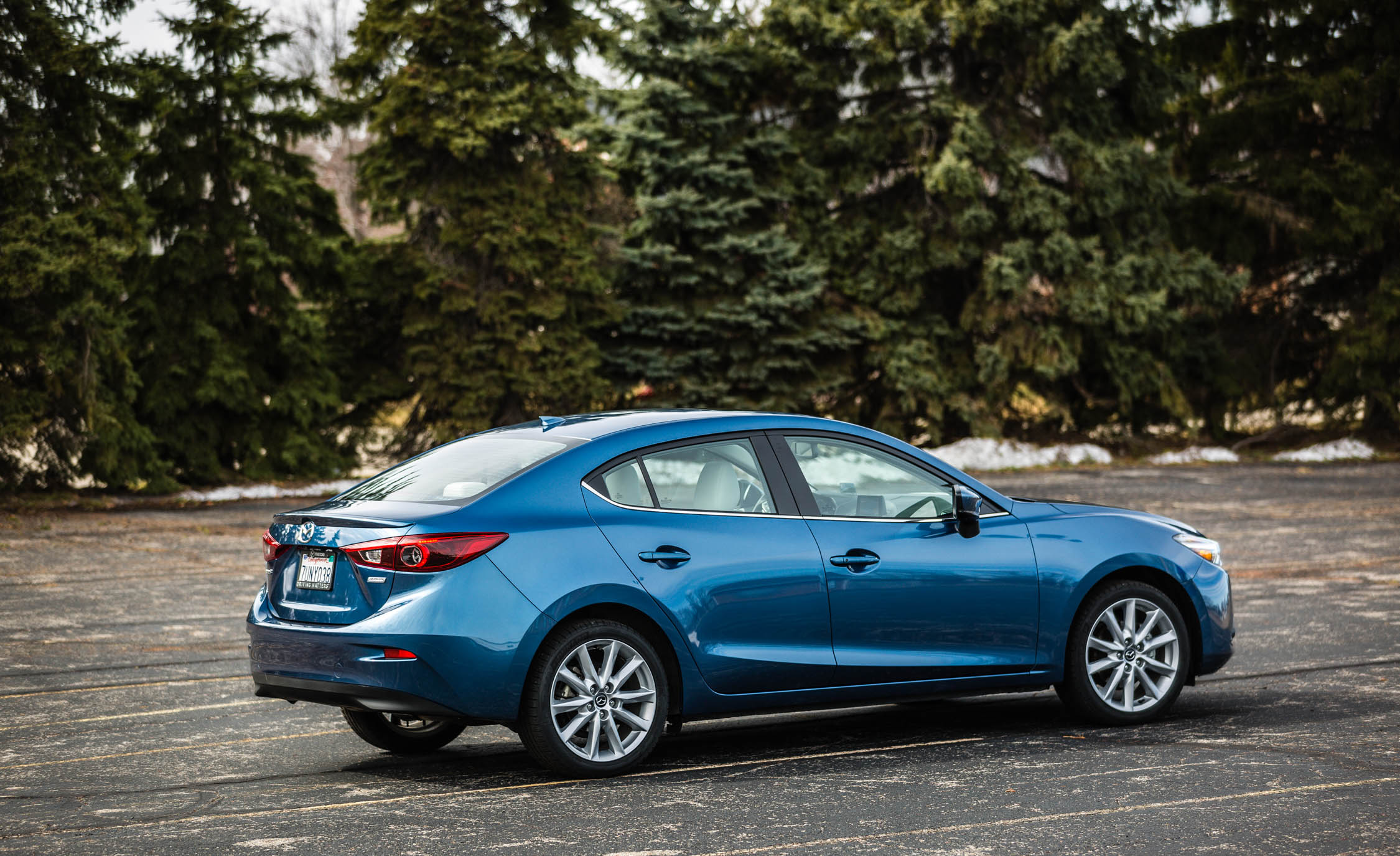 2017 Mazda 3 Grand Touring Sedan Exterior Side And Rear (Photo 8 of 51)