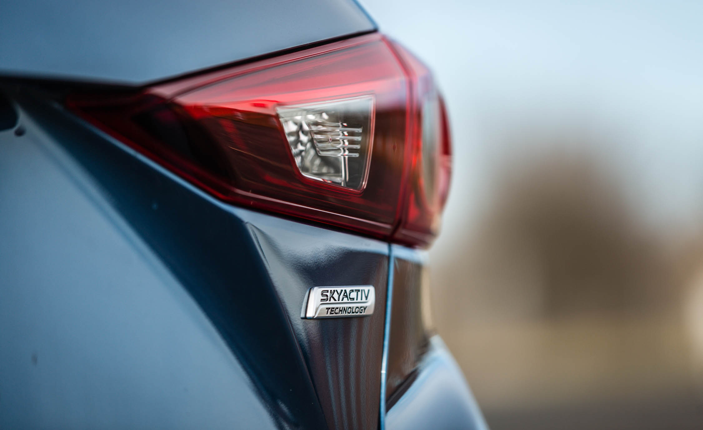 2017 Mazda 3 Grand Touring Sedan Exterior View Rear Emblem (Photo 13 of 51)