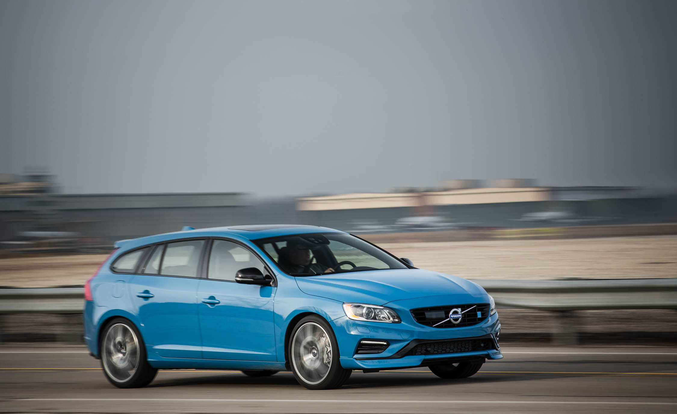2017 Volvo V60 Polestar Blue Metallic (View 1 of 53)