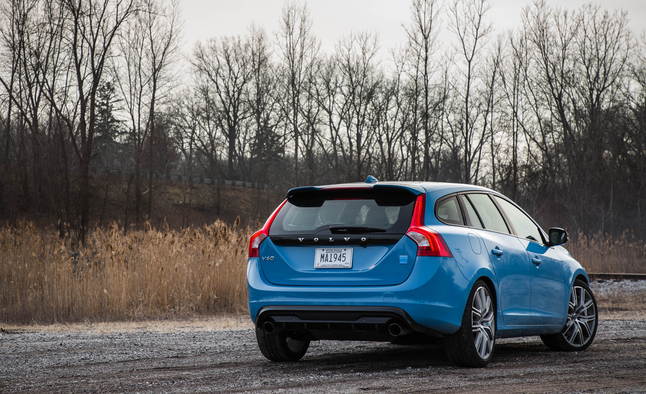 2017 Volvo V60 Polestar Exterior Rear (Photo 4 of 53)