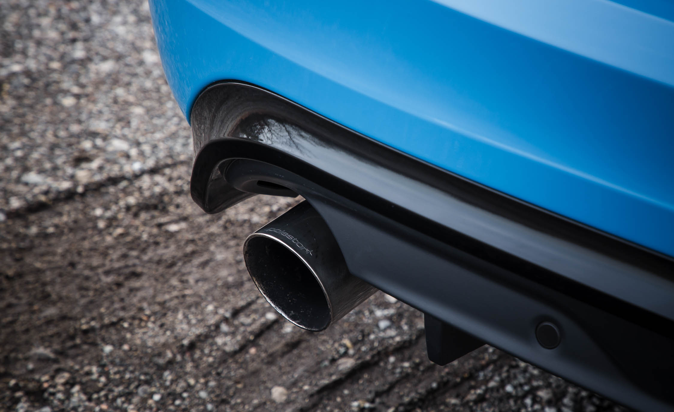 2017 Volvo V60 Polestar Exterior View Exhaust Pipe (Photo 6 of 53)
