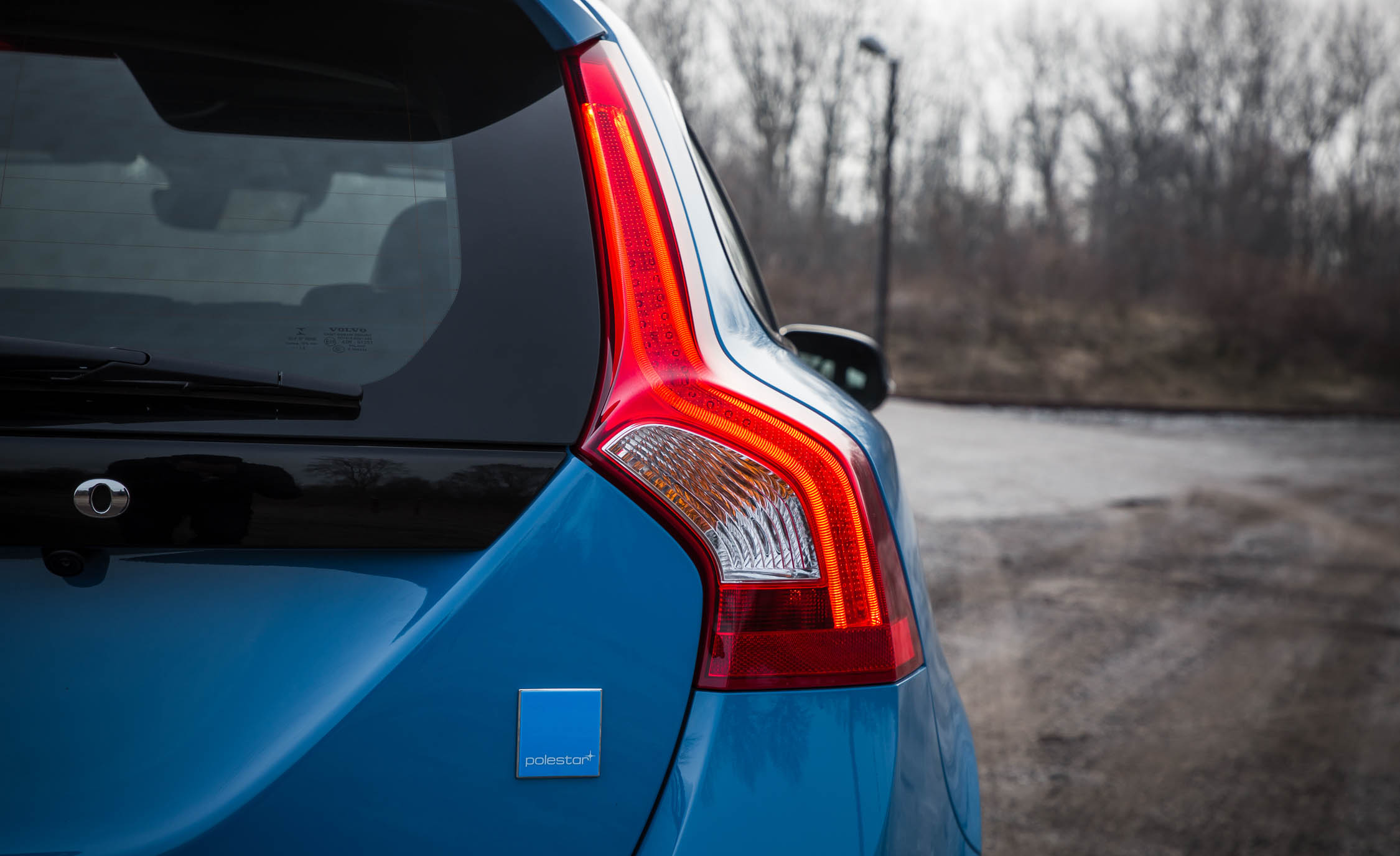 2017 Volvo V60 Polestar Exterior View Taillamp (Photo 14 of 53)