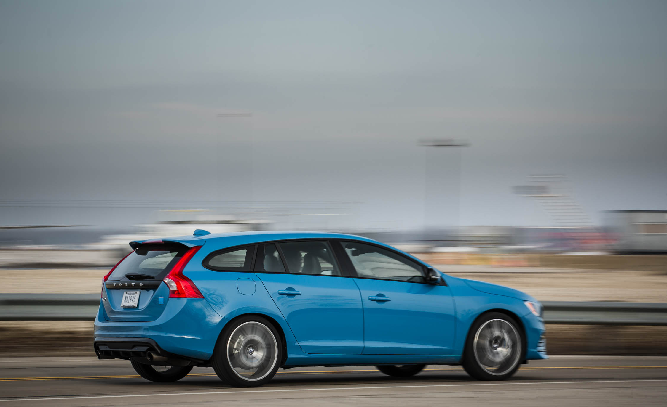 2017 Volvo V60 Polestar Test Drive Rear And Side View (View 3 of 53)