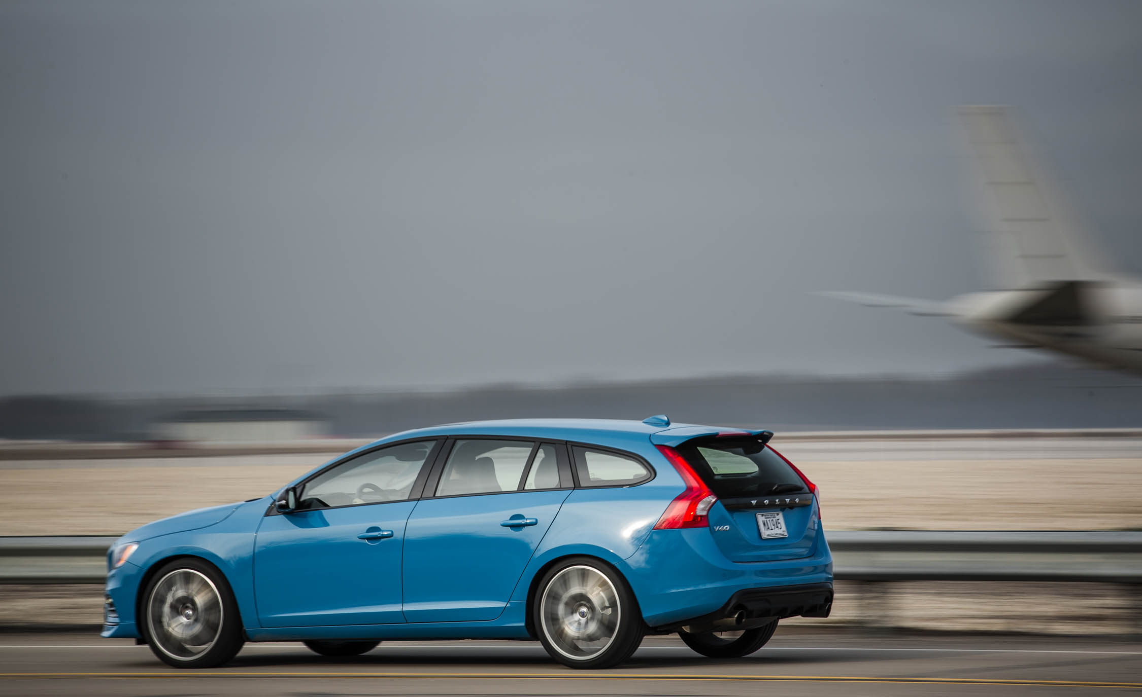 2017 Volvo V60 Polestar Test Drive Side And Rear View (Photo 50 of 53)