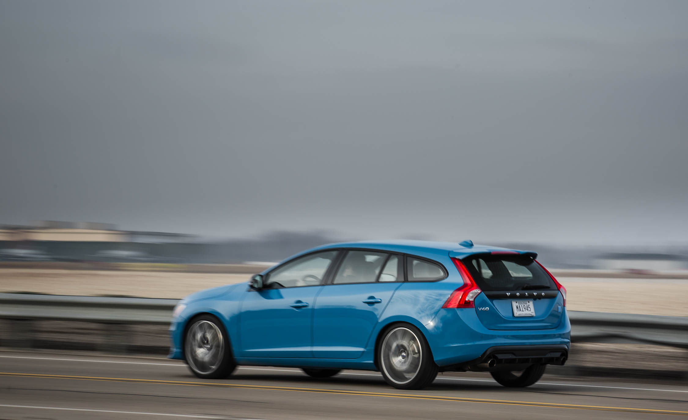 2017 Volvo V60 Polestar Test Drive Side And Rear (Photo 49 of 53)
