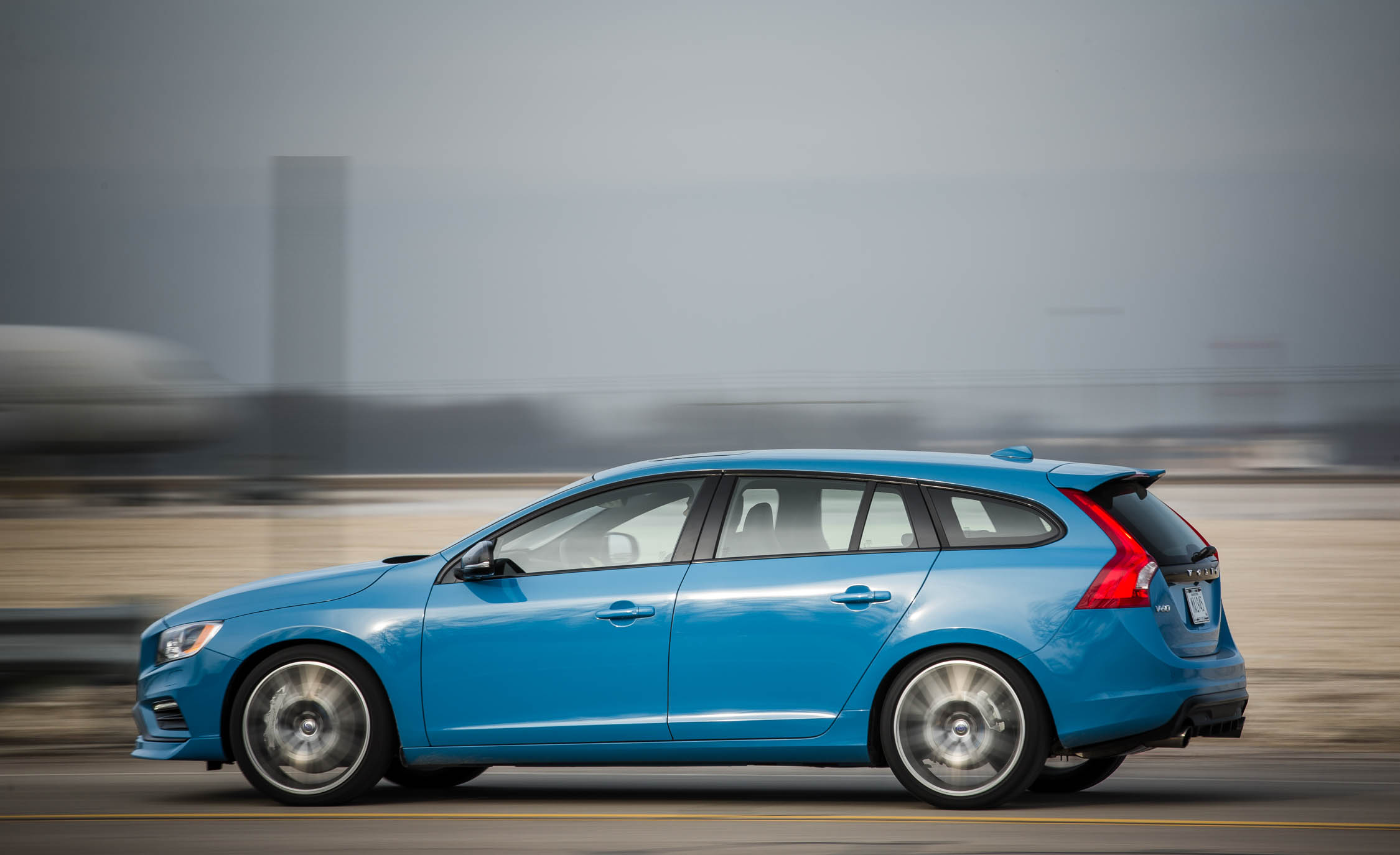 2017 Volvo V60 Polestar Test Drive Side View (View 7 of 53)