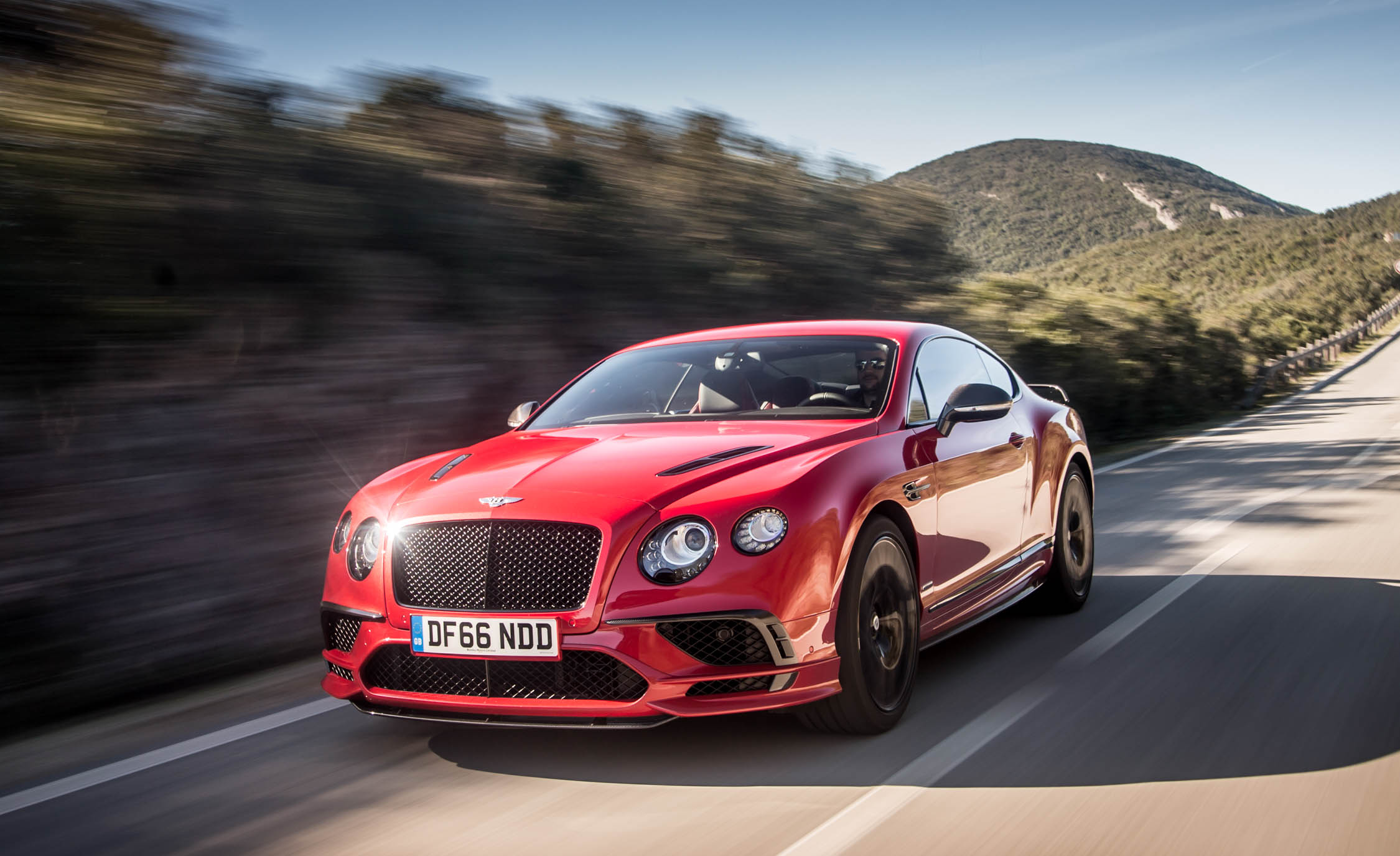 2018 Bentley Continental Supersports Color Red Metallic (View 24 of 66)