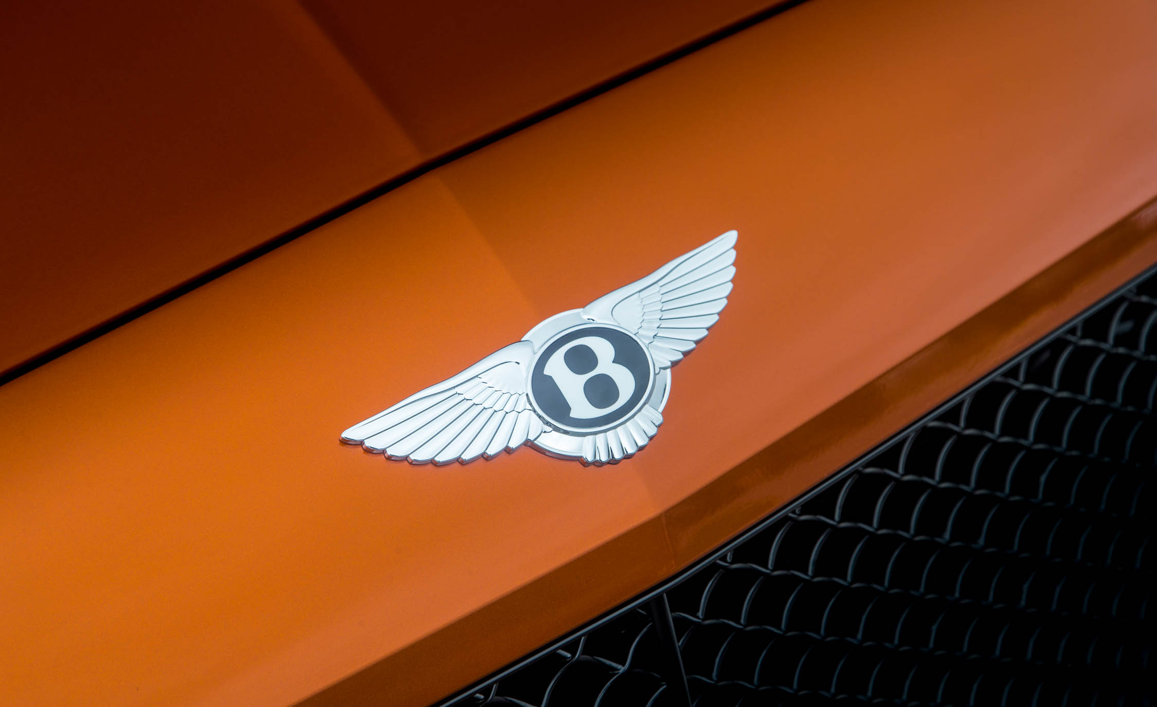 2018 Bentley Continental Supersports Convertible Exterior View Front Badge (Photo 58 of 66)