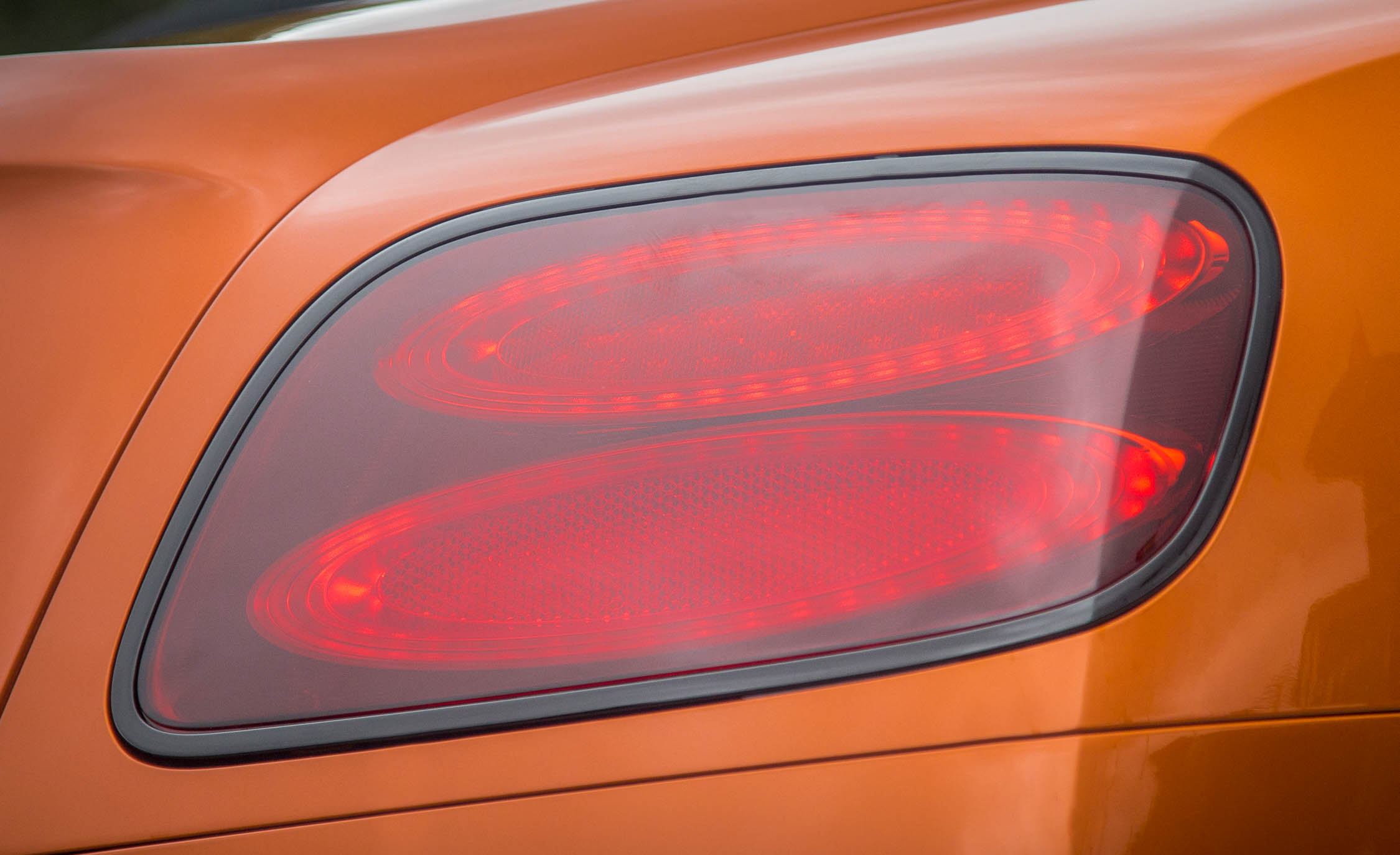 2018 Bentley Continental Supersports Convertible Exterior View Taillight (View 64 of 66)