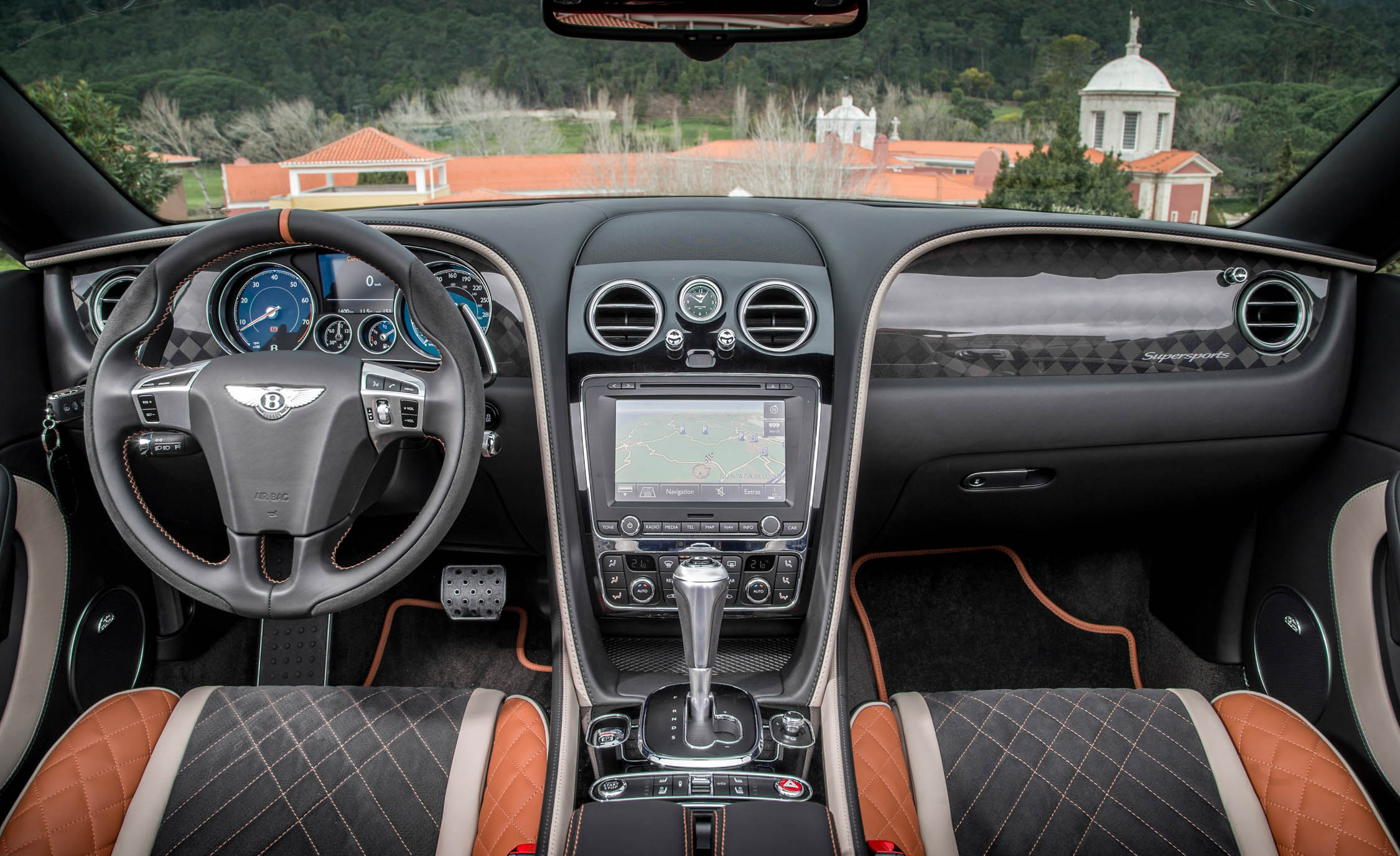 2018 Bentley Continental Supersports Convertible Interior Dashboard (View 36 of 66)