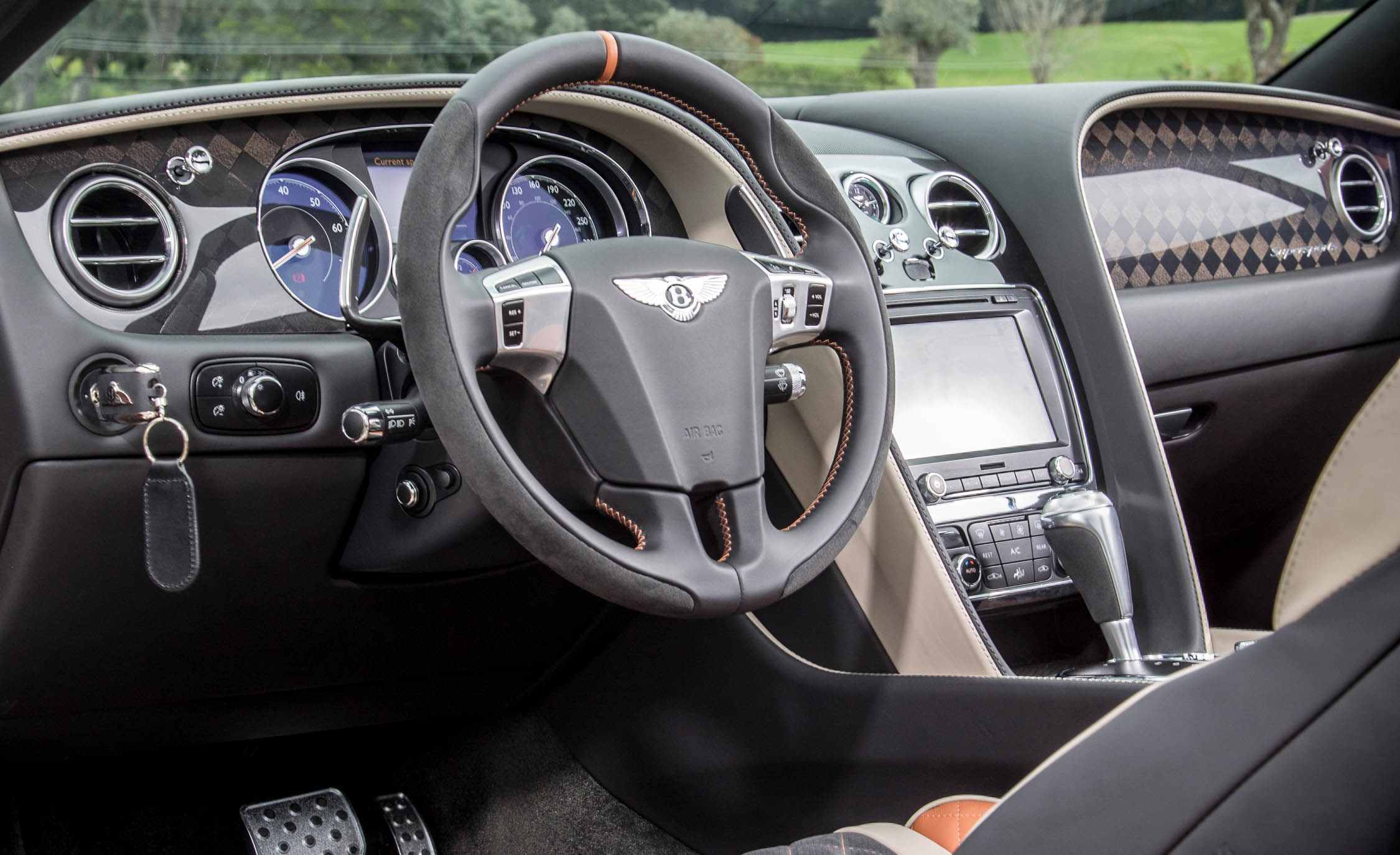2018 Bentley Continental Supersports Convertible Interior Driver Steering (View 37 of 66)