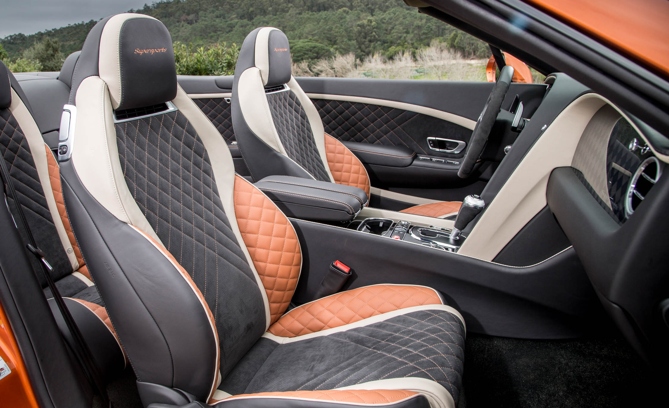 2018 Bentley Continental Supersports Convertible Interior Seats Front (View 42 of 66)