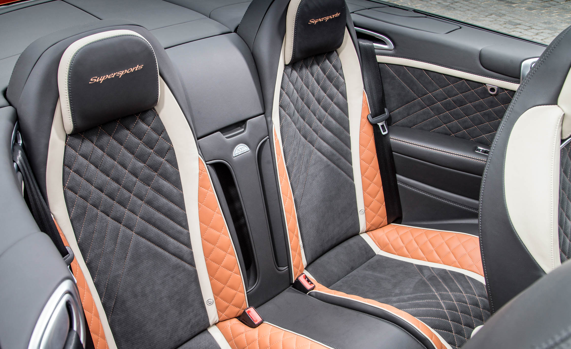 2018 Bentley Continental Supersports Convertible Interior Seats Rear (View 38 of 66)