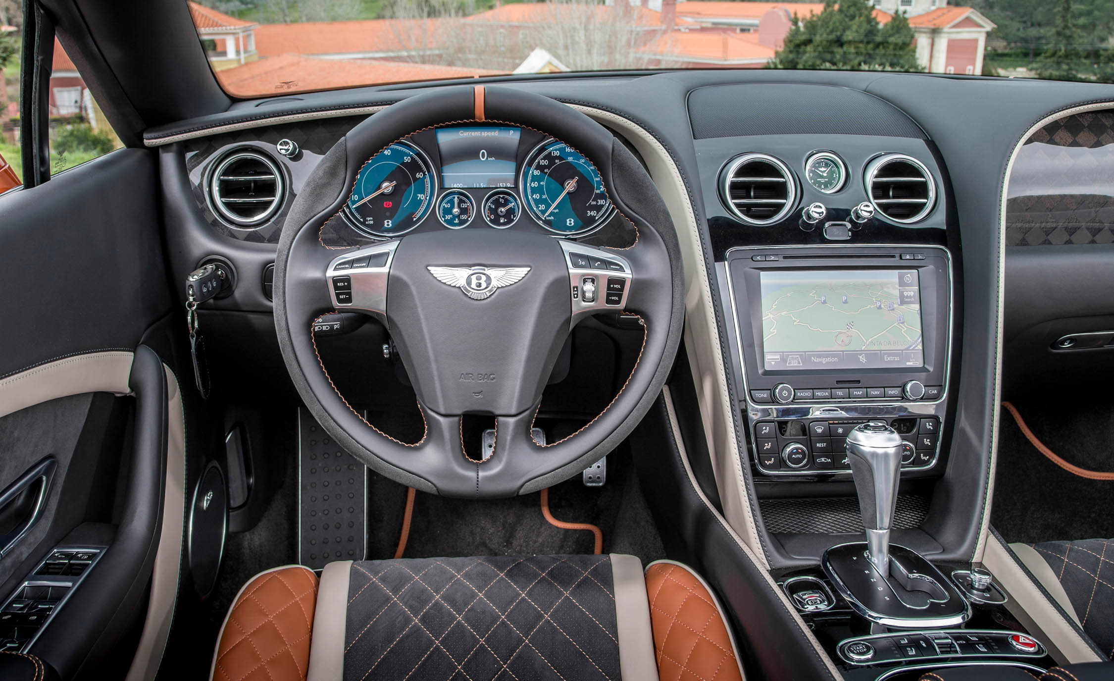 2018 Bentley Continental Supersports Convertible Interior Steering And Speedometer (View 39 of 66)