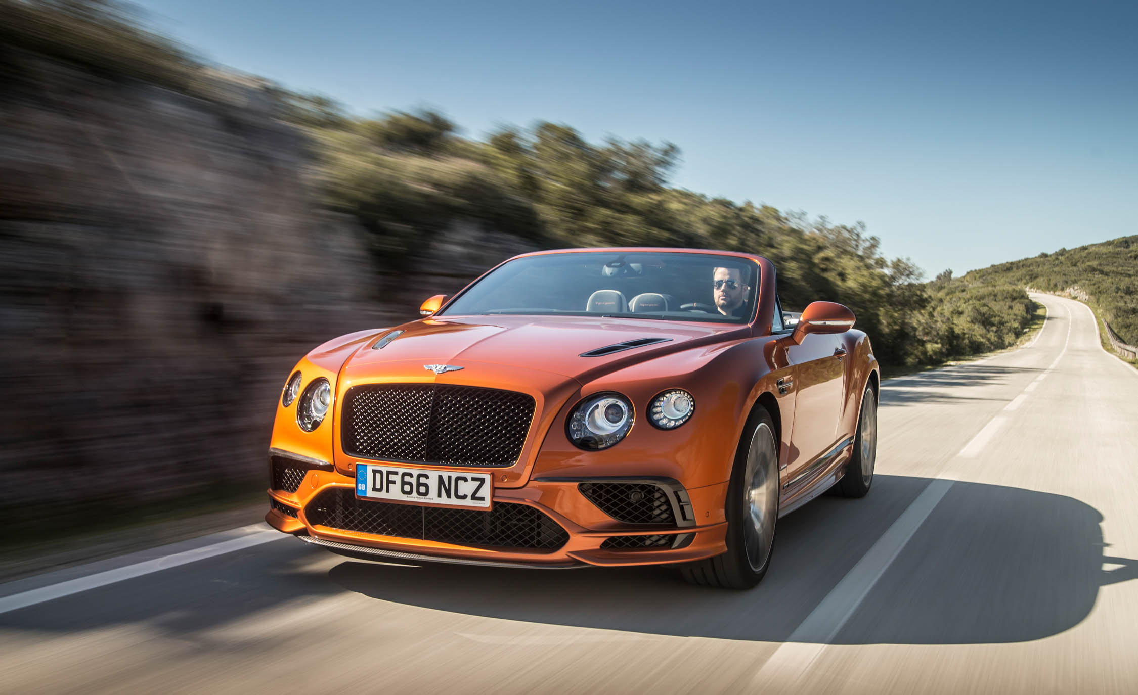 2018 Bentley Continental Supersports Convertible Test Drive Front And Side View (View 47 of 66)