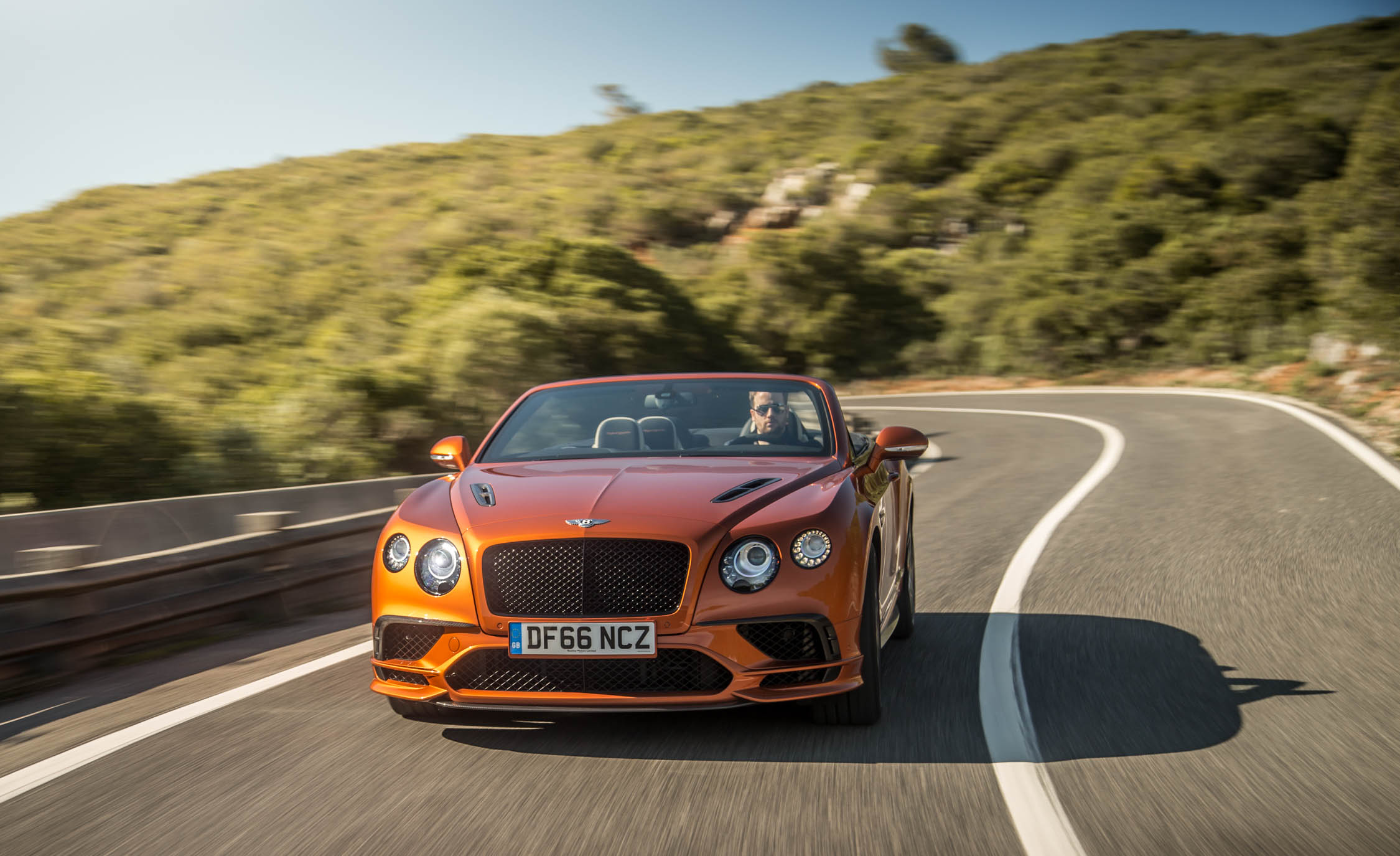 2018 Bentley Continental Supersports Convertible Test Drive Front Corner (Photo 46 of 66)