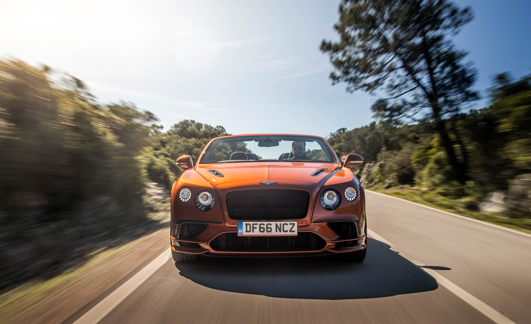 2018 Bentley Continental Supersports Convertible Test Drive Front View (View 48 of 66)