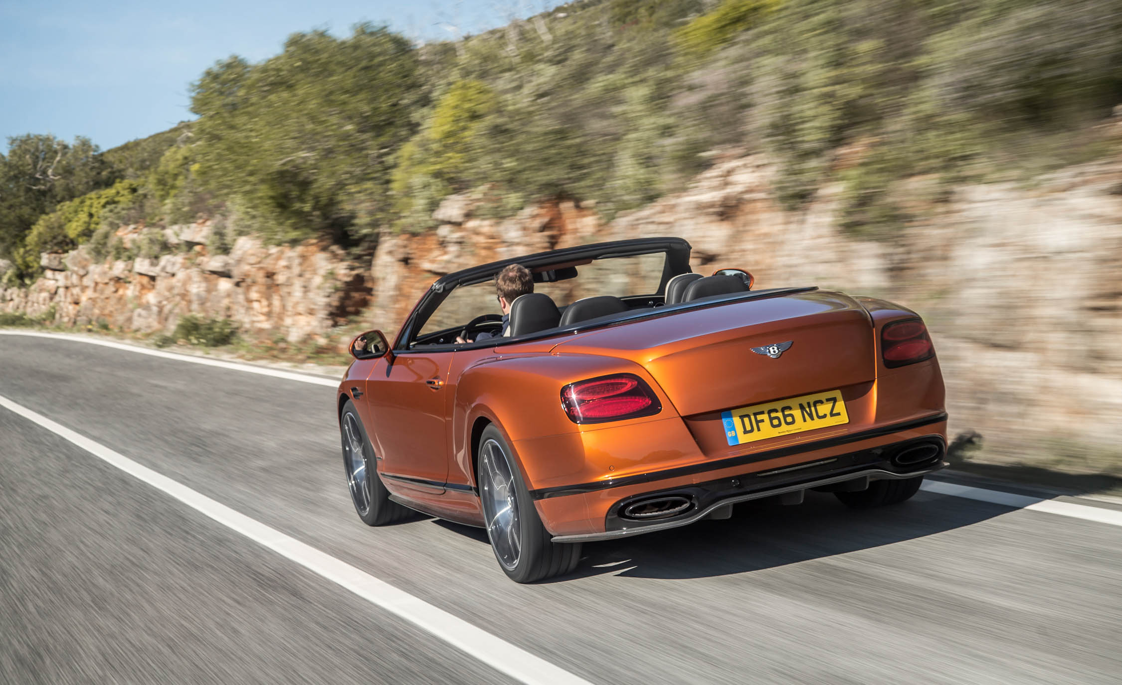 2018 Bentley Continental Supersports Convertible Test Drive Rear And Side View (View 49 of 66)