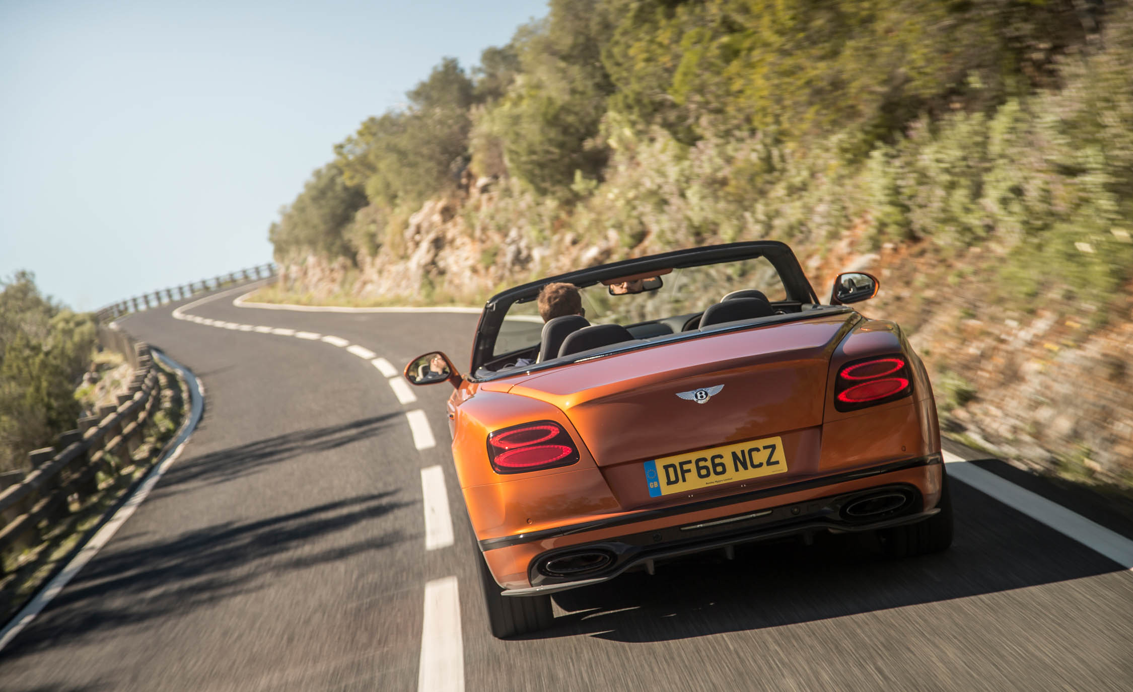 2018 Bentley Continental Supersports Convertible Test Drive Rear View (Photo 53 of 66)