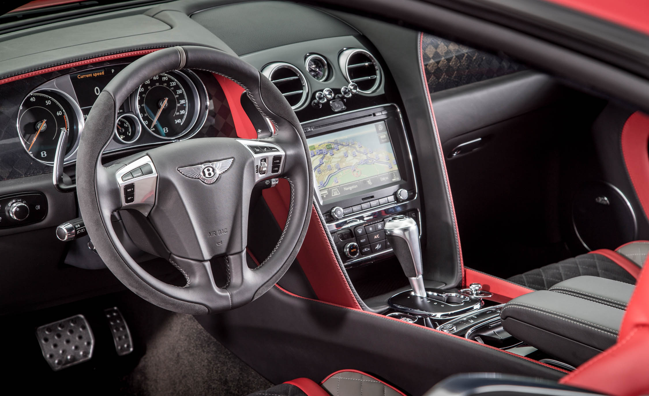 2018 Bentley Continental Supersports Interior Driver Cockpit And Dash (View 12 of 66)