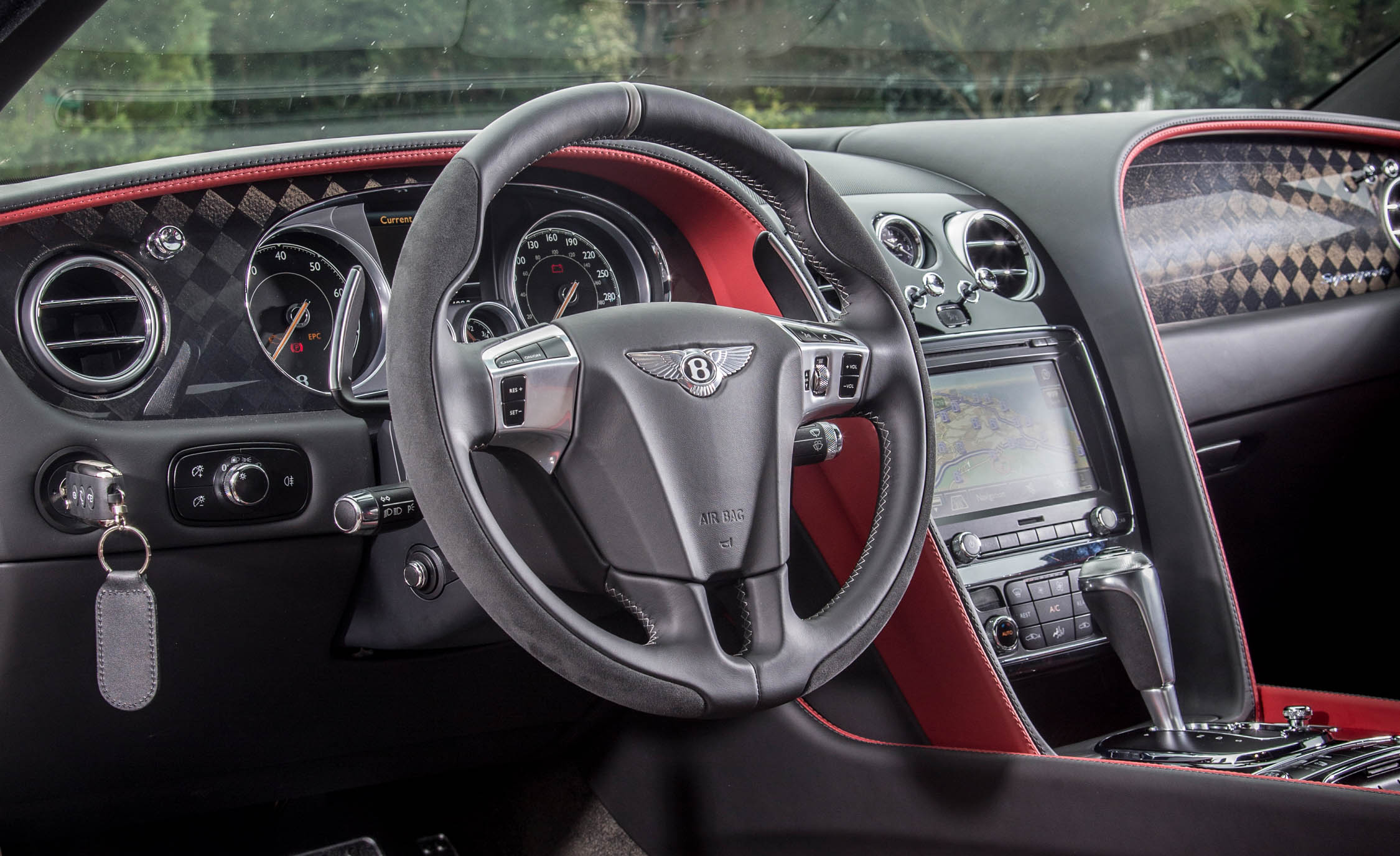 2018 Bentley Continental Supersports Interior Driver Steering (View 7 of 66)