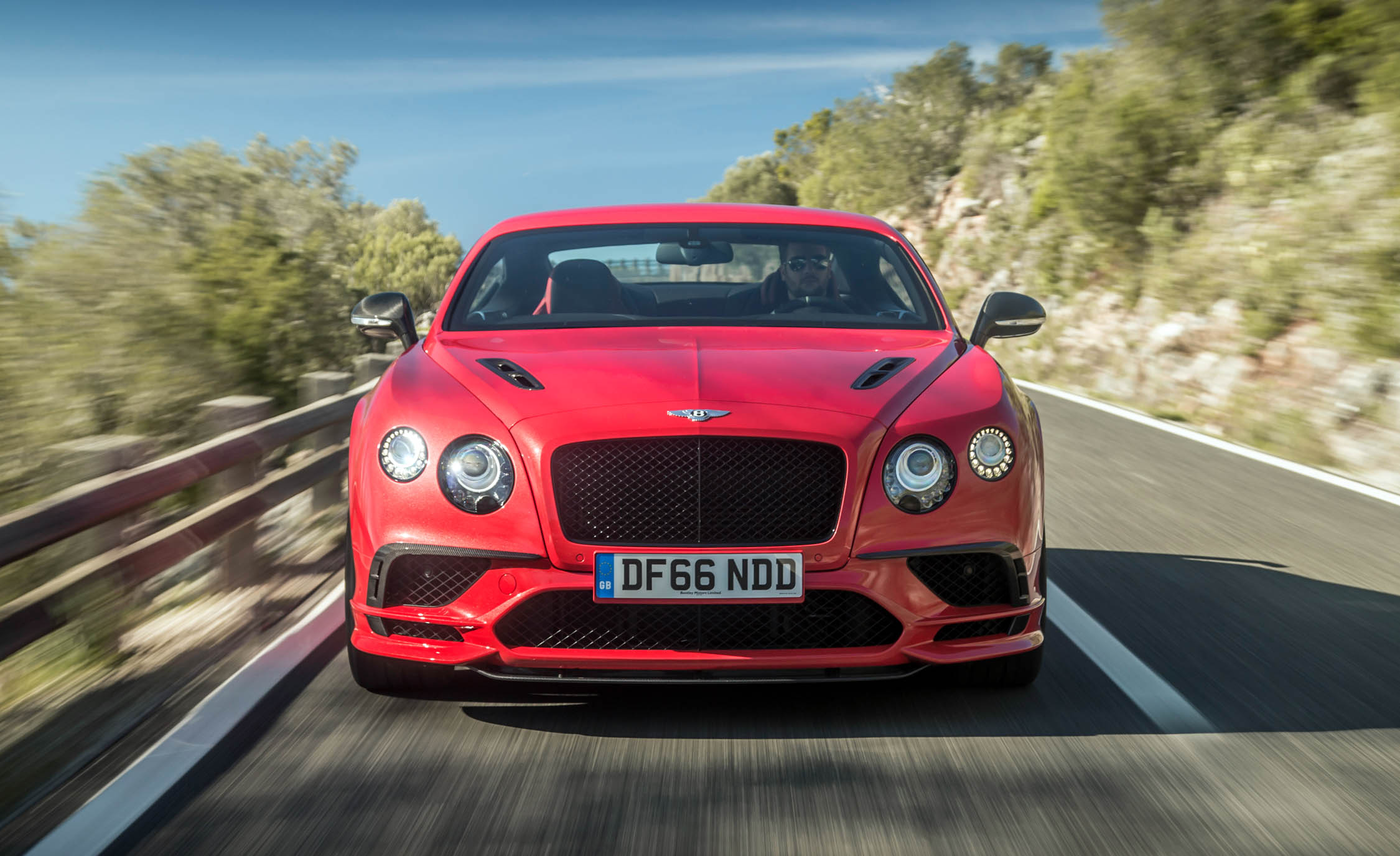 2018 Bentley Continental Supersports Test Drive Front View (View 26 of 66)