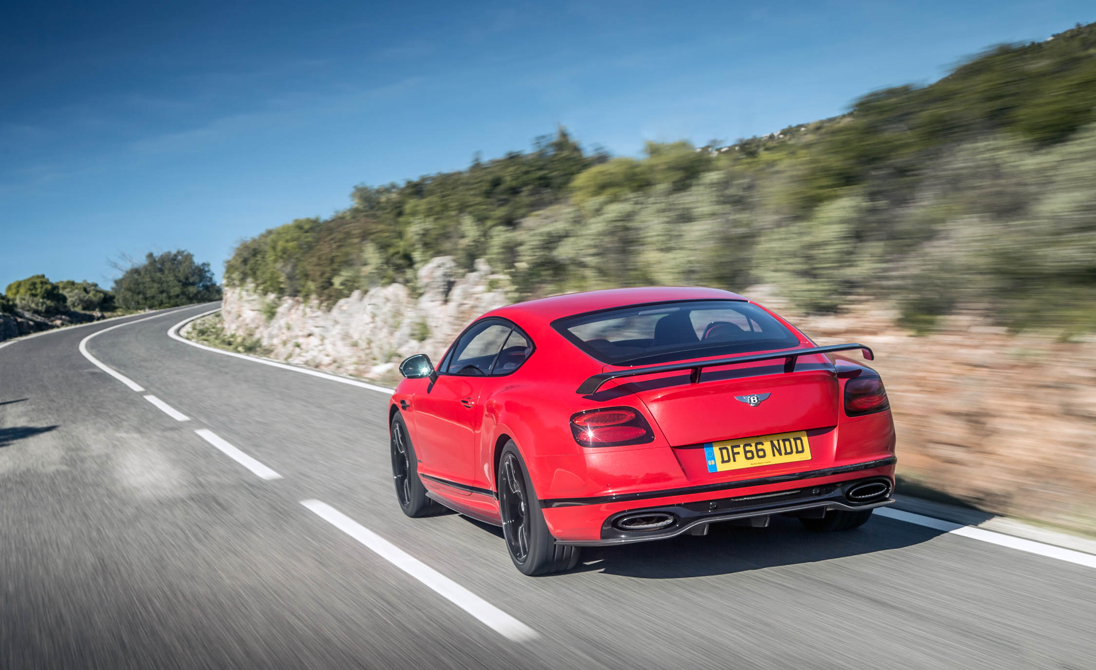 2018 Bentley Continental Supersports Test Drive Rear View (View 30 of 66)