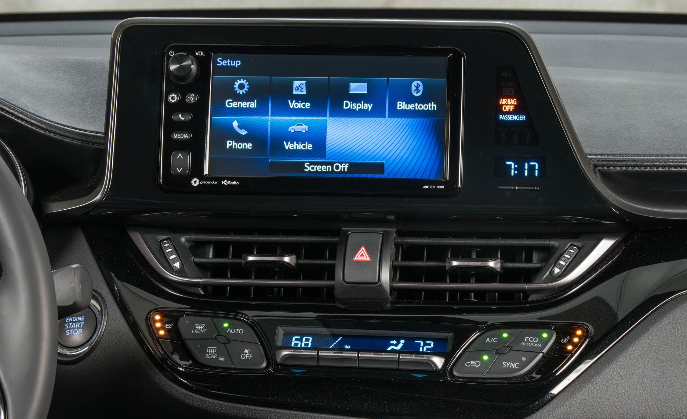 2018 Toyota C HR Interior View Center Headunit Screen (Photo 16 of 33)