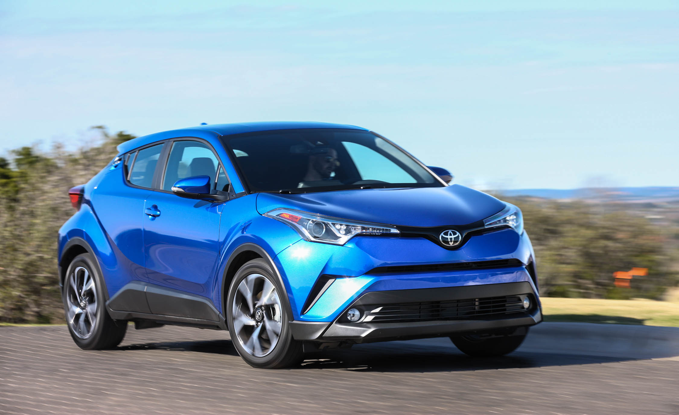 2018 Toyota C HR Test Drive Front And Side View (Photo 10 of 33)