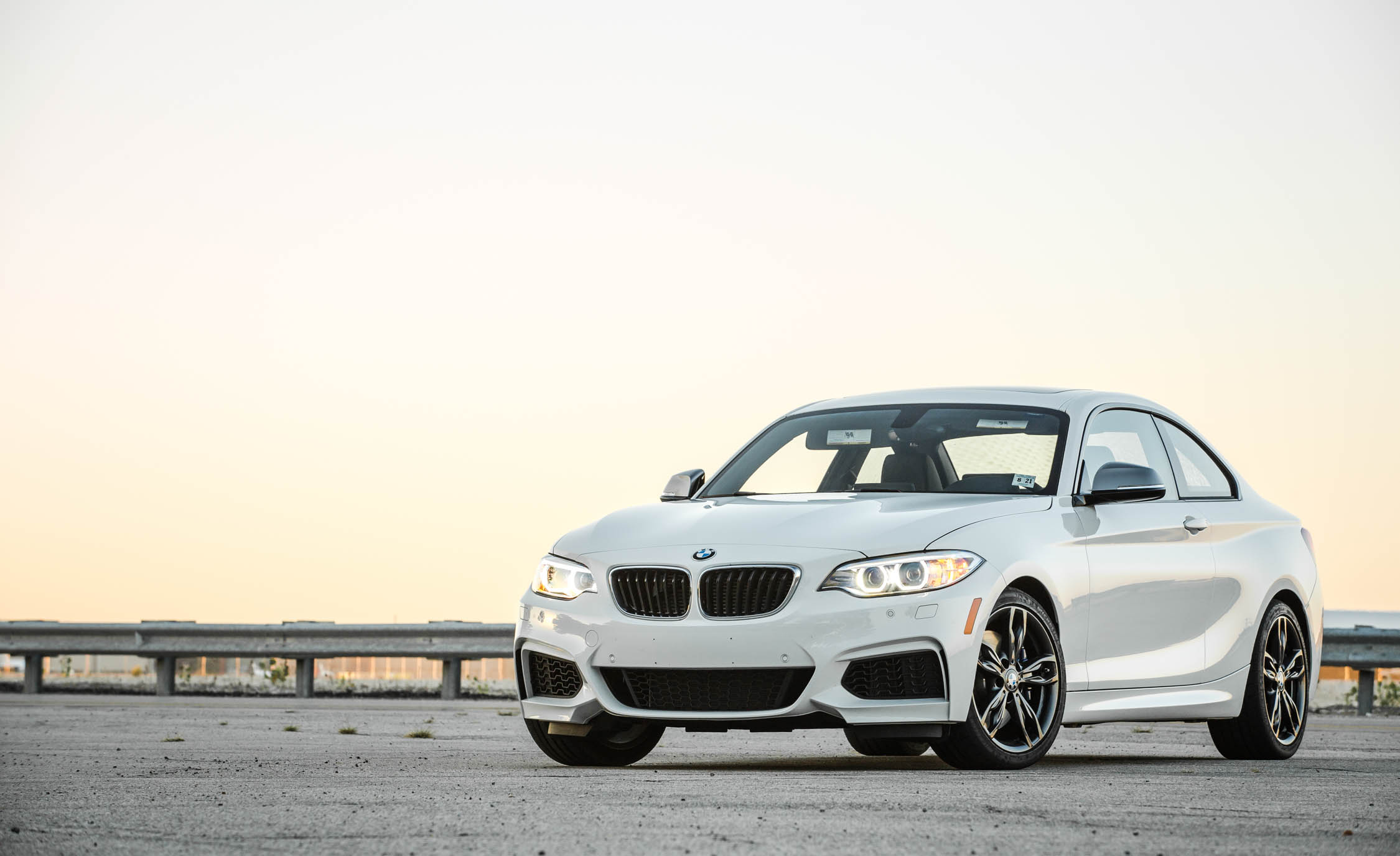 2017 BMW M240i Coupe Automatic Exterior Front And Side (Photo 2 of 36)