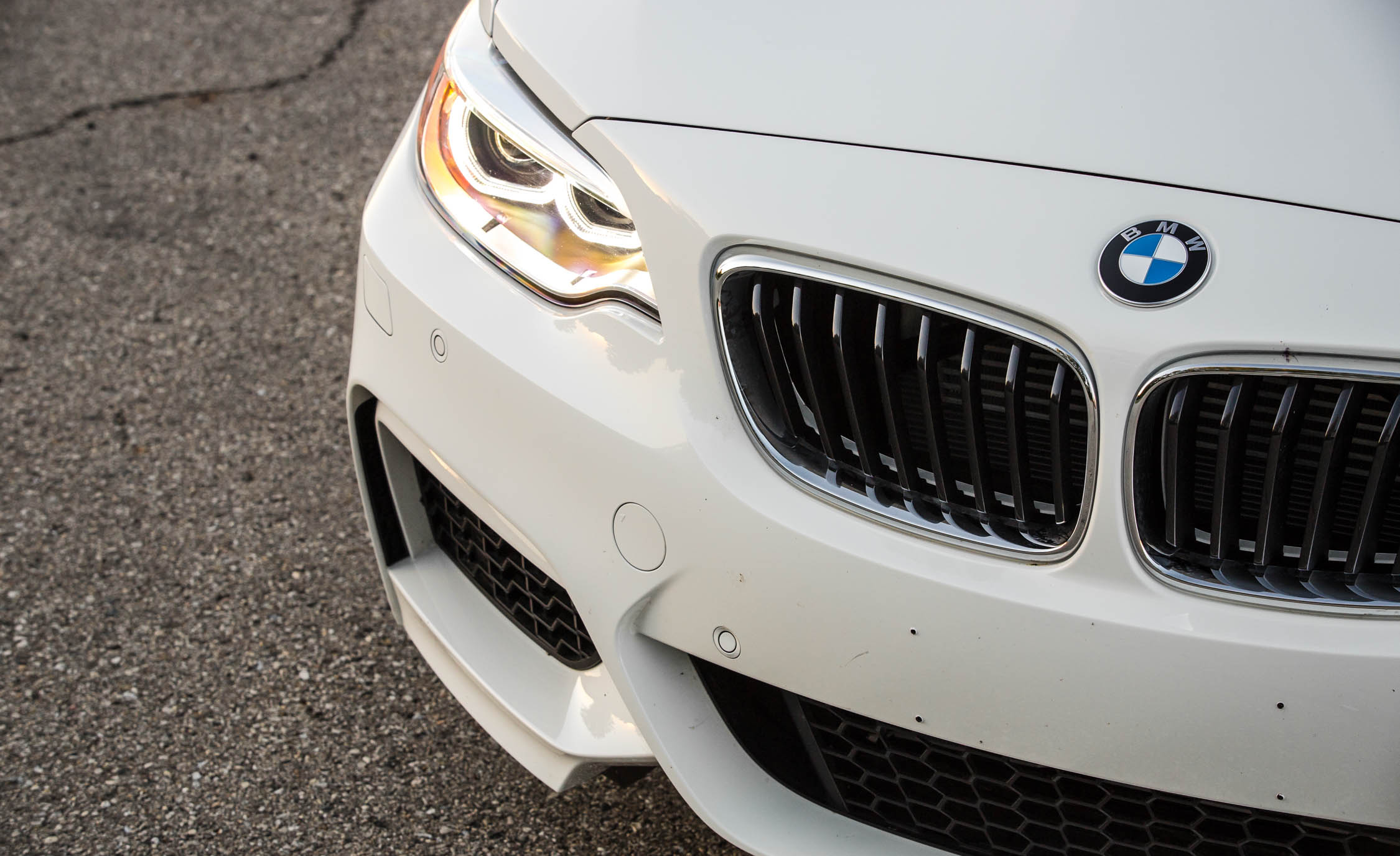 2017 BMW M240i Coupe Automatic Exterior View Front Bumper (Photo 6 of 36)