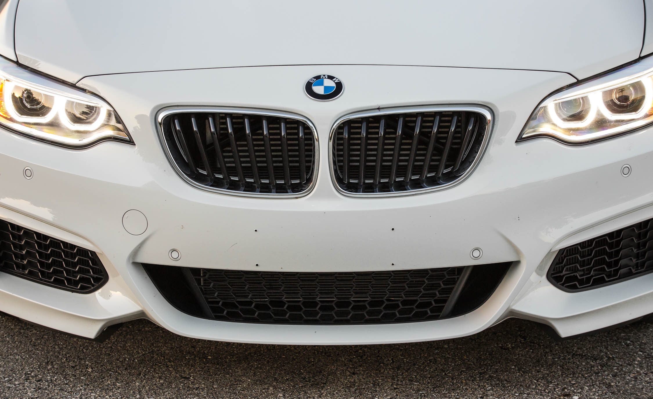 2017 BMW M240i Coupe Automatic Exterior View Grille And Bumper (Photo 9 of 36)