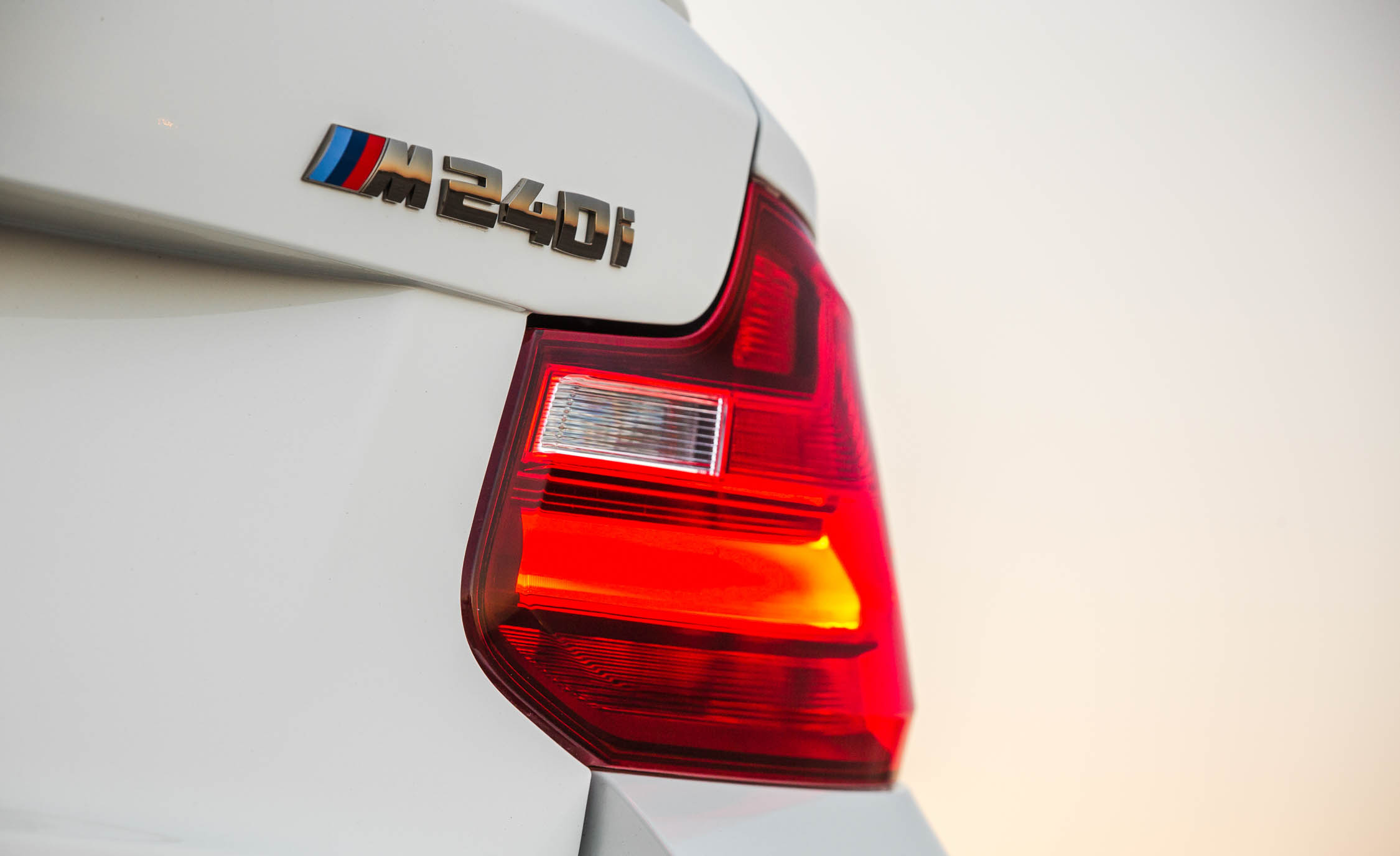 2017 BMW M240i Coupe Automatic Exterior View Rear Badge Emblem (Photo 13 of 36)