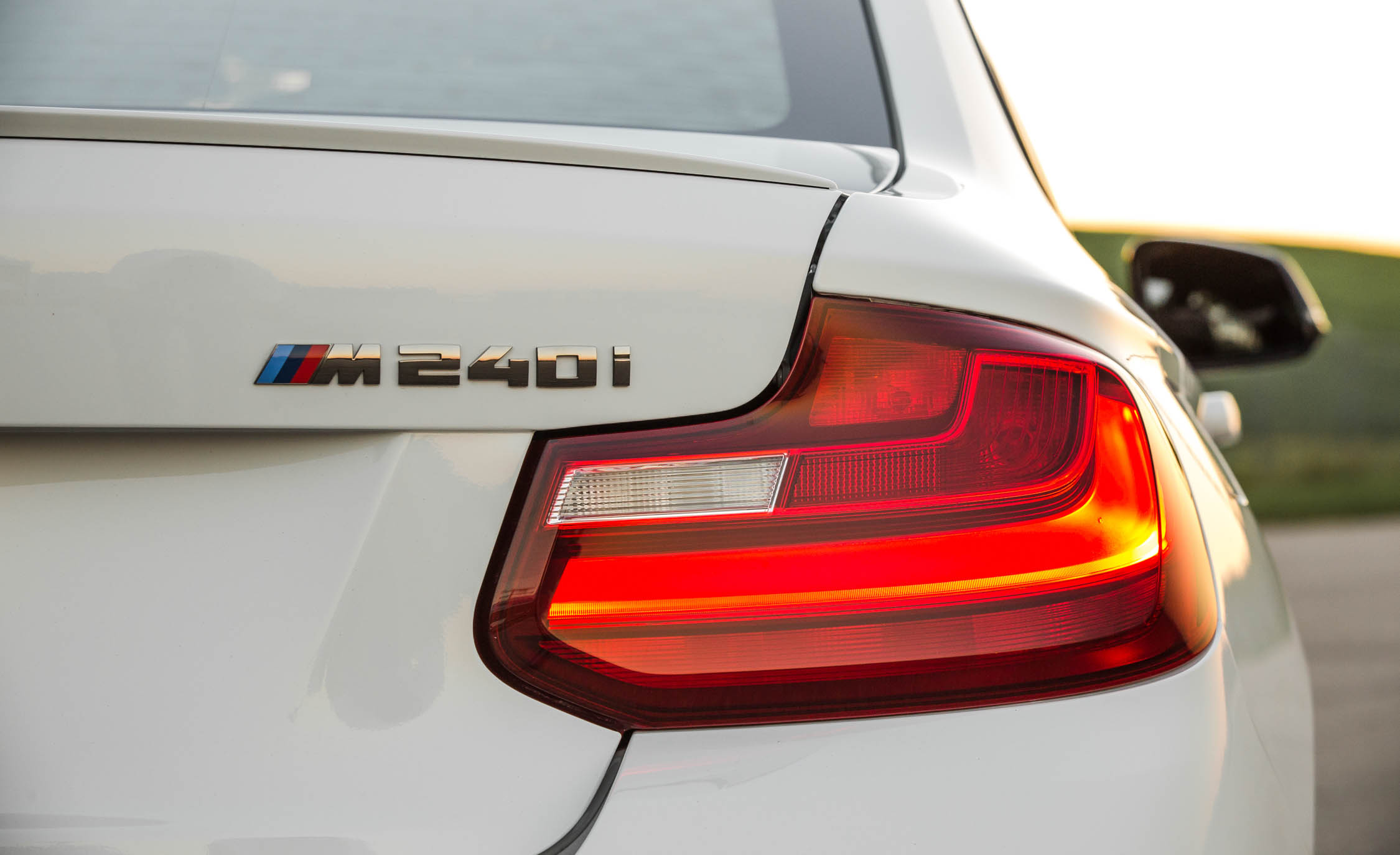 2017 BMW M240i Coupe Automatic Exterior View Rear Emblem (Photo 26 of 36)