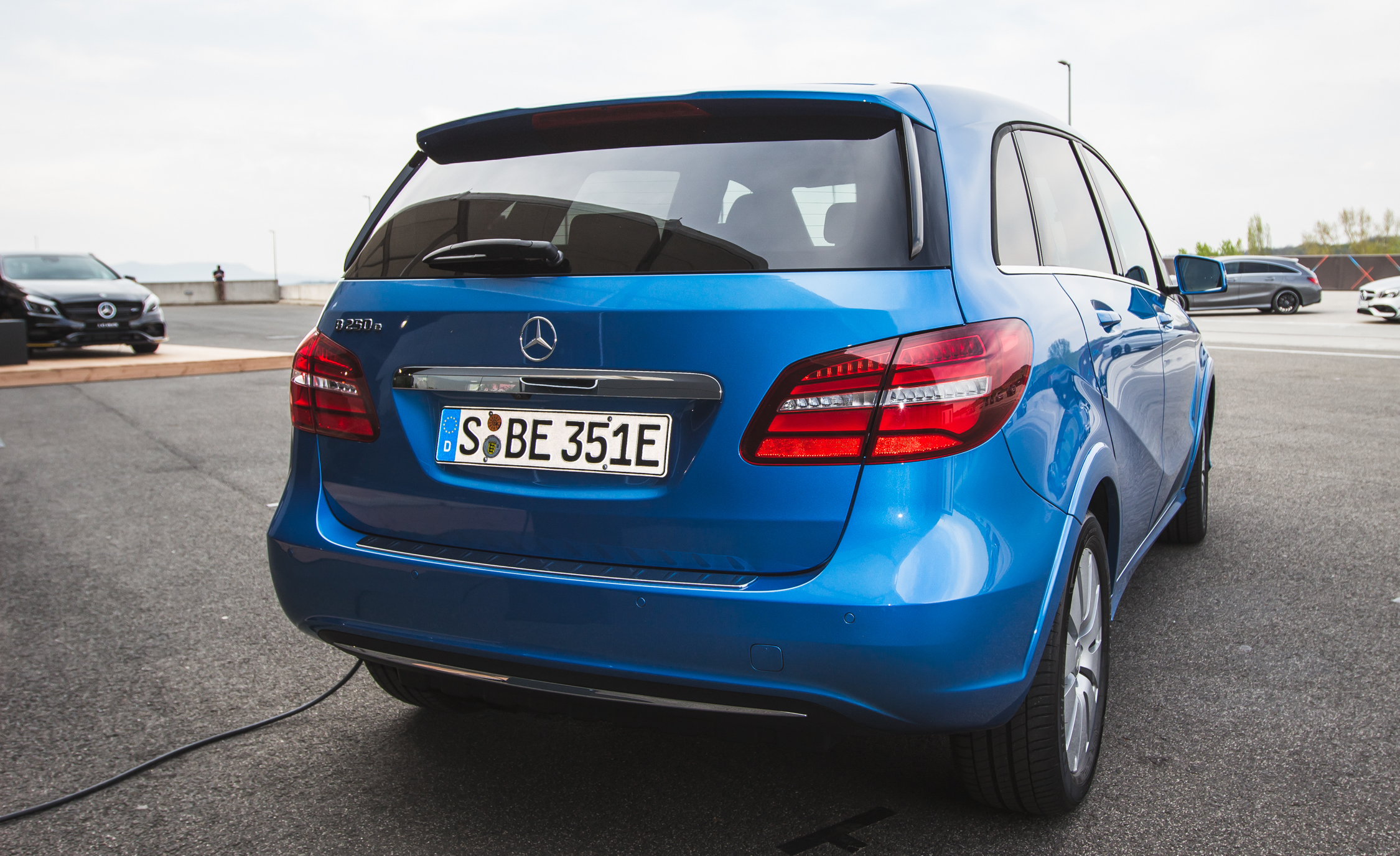 2017 Mercedes Benz B250e Exterior Rear (View 17 of 24)