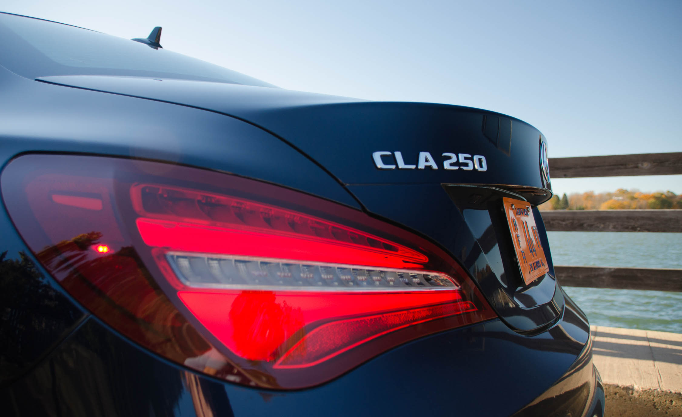 2017 Mercedes Benz CLA250 4MATIC Exterior View Taillight (Photo 9 of 21)