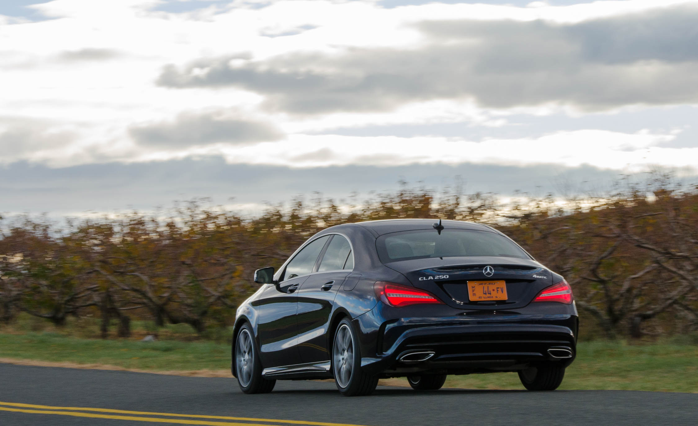 2017 Mercedes Benz CLA250 4MATIC Test Drive Rear View (Photo 19 of 21)