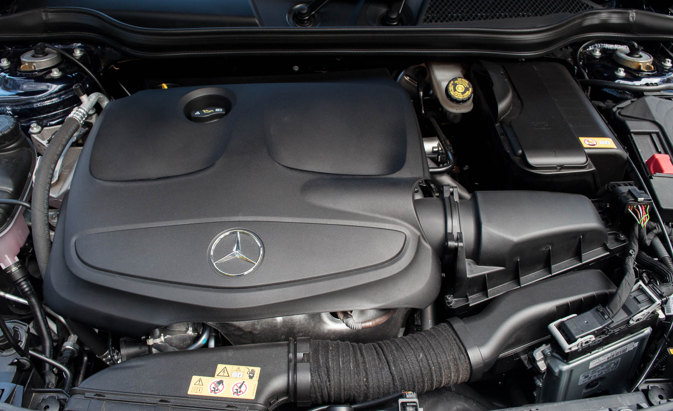 2017 Mercedes Benz CLA250 4MATIC View Engine (Photo 21 of 21)