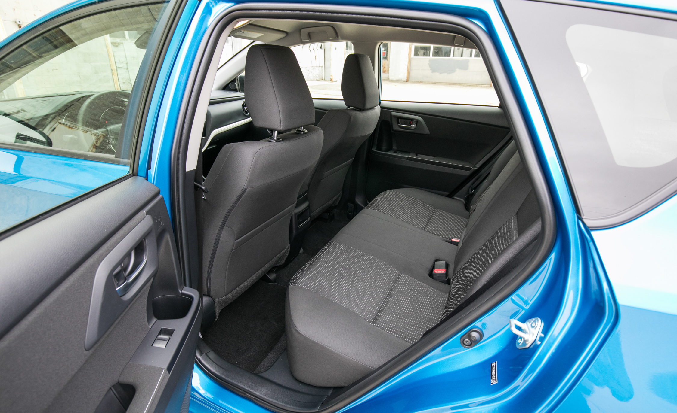 2017 Toyota Corolla IM Hatchback Interior Seats Rear Space (Photo 32 of 52)