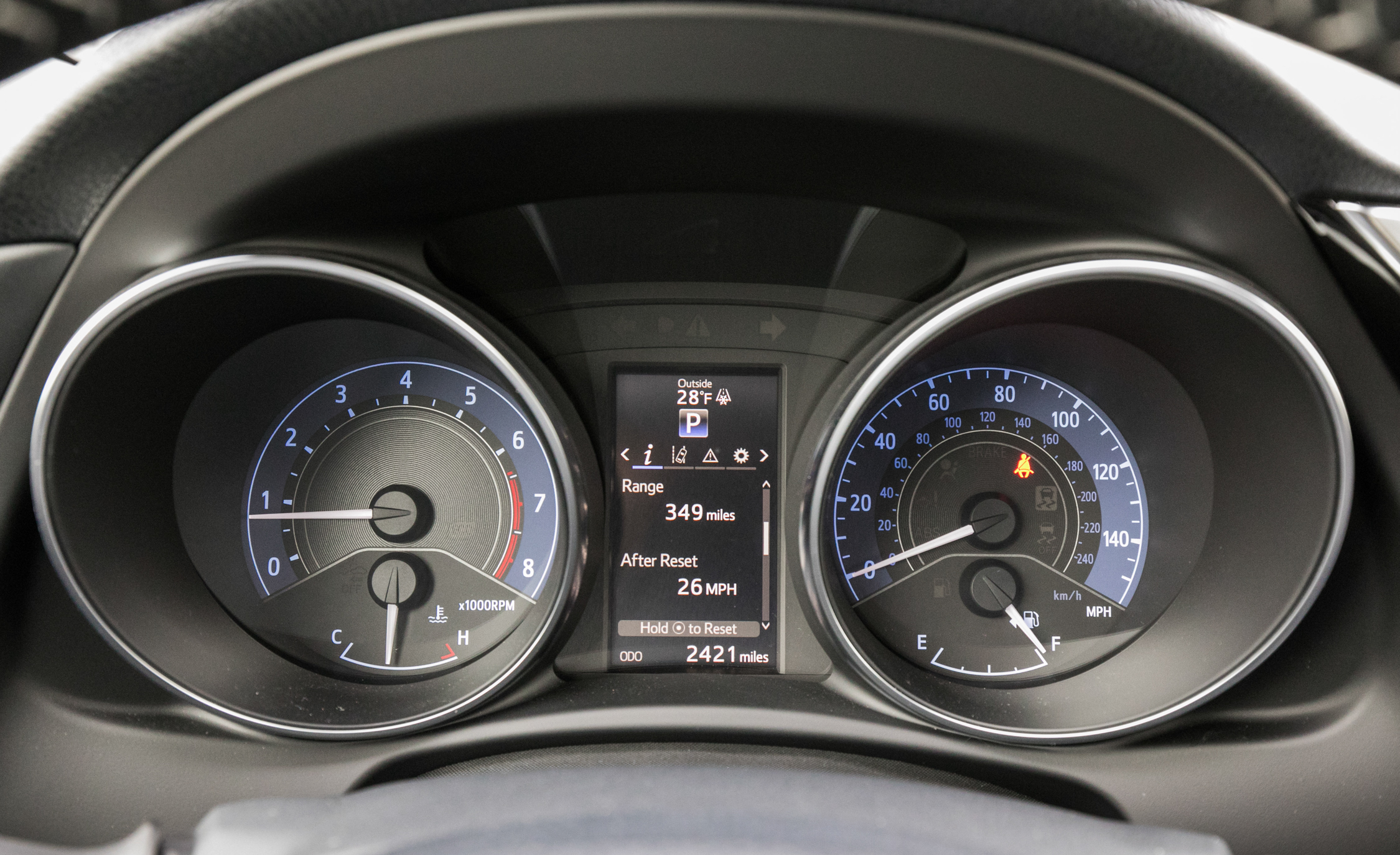 2017 Toyota Corolla IM Hatchback Interior View Speedometer (Photo 45 of 52)