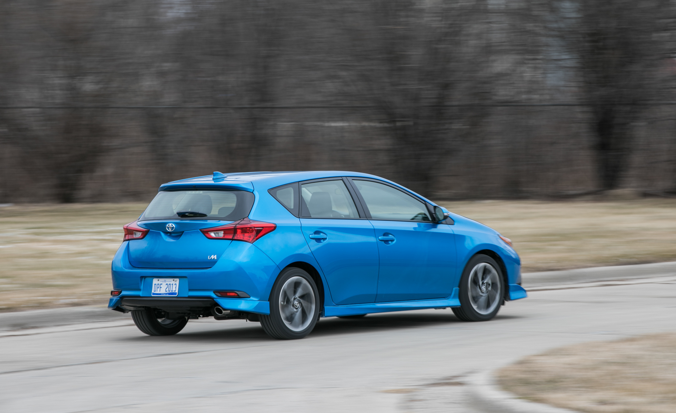 2017 Toyota Corolla IM Hatchback Test Drive Rear And Side View (Photo 48 of 52)