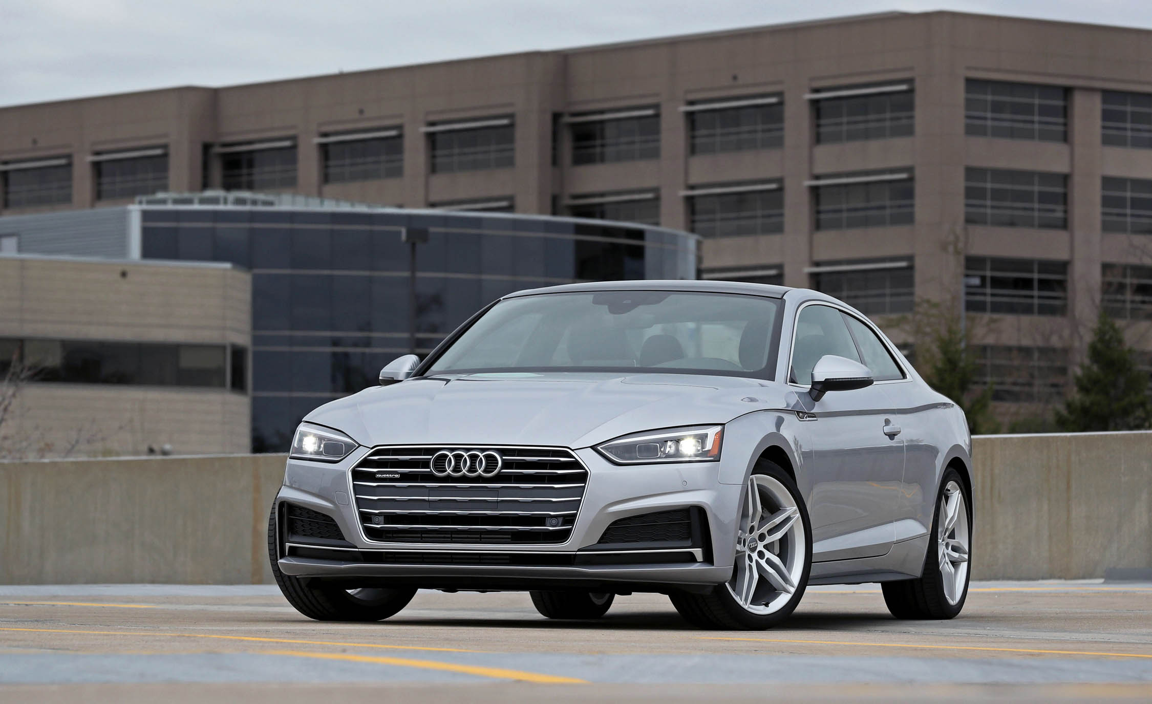 2018 Audi A5 Coupe Exterior Front (Photo 2 of 50)