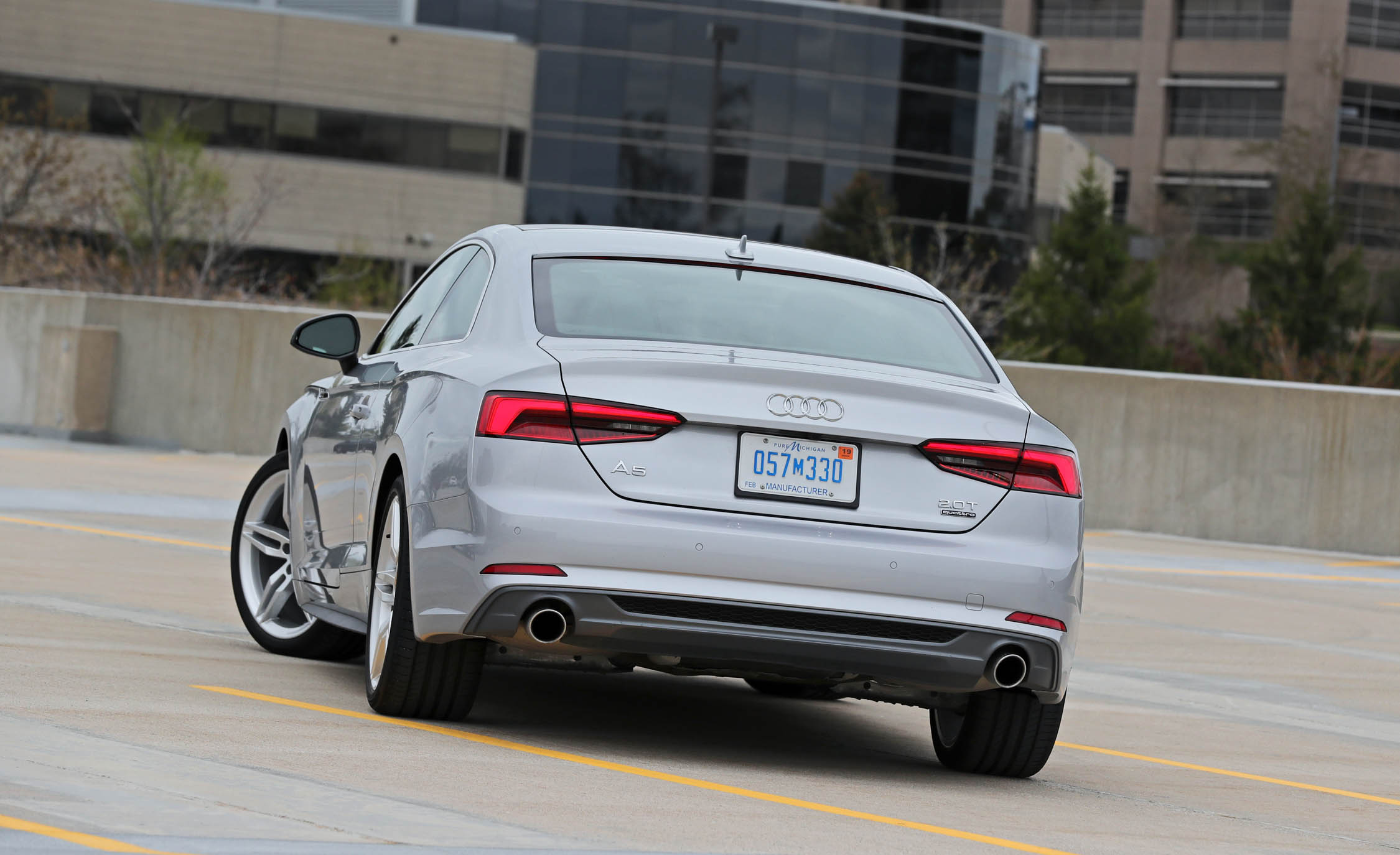2018 Audi A5 Coupe Exterior Rear Corner (Photo 6 of 50)