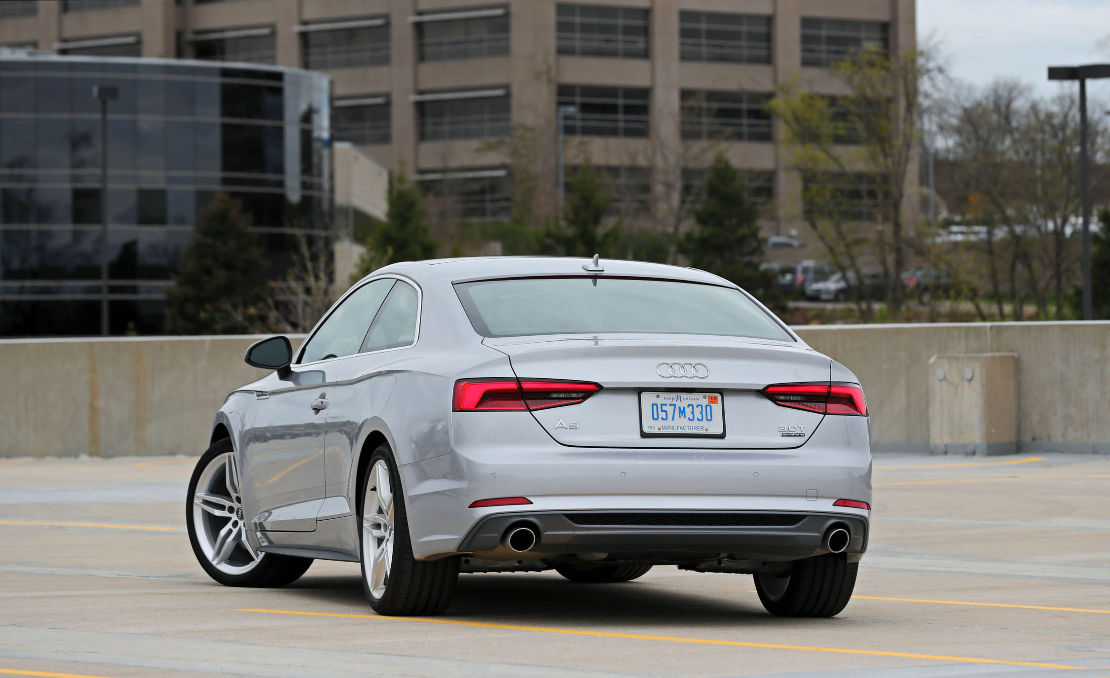 2018 Audi A5 Coupe Exterior Rear (Photo 47 of 50)