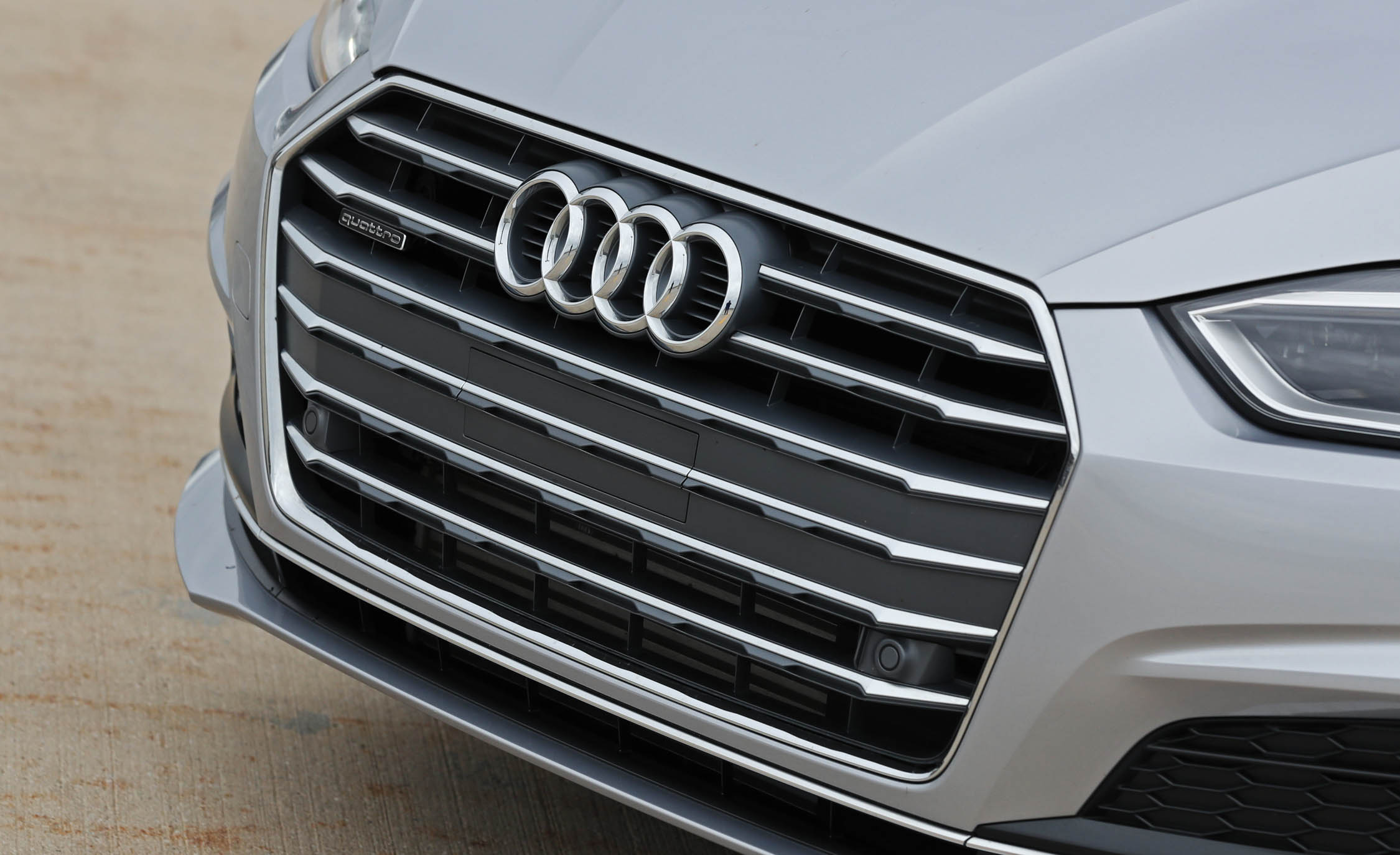 2018 Audi A5 Coupe Exterior View Grille (Photo 9 of 50)