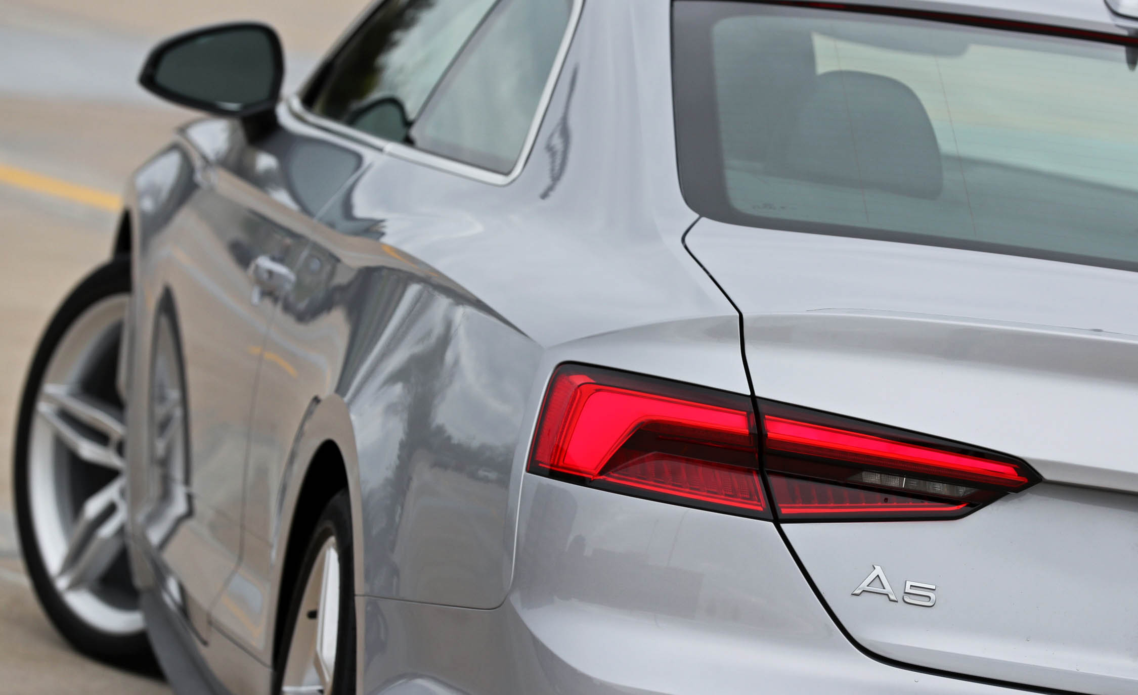 2018 Audi A5 Coupe Exterior View Taillight (Photo 13 of 50)
