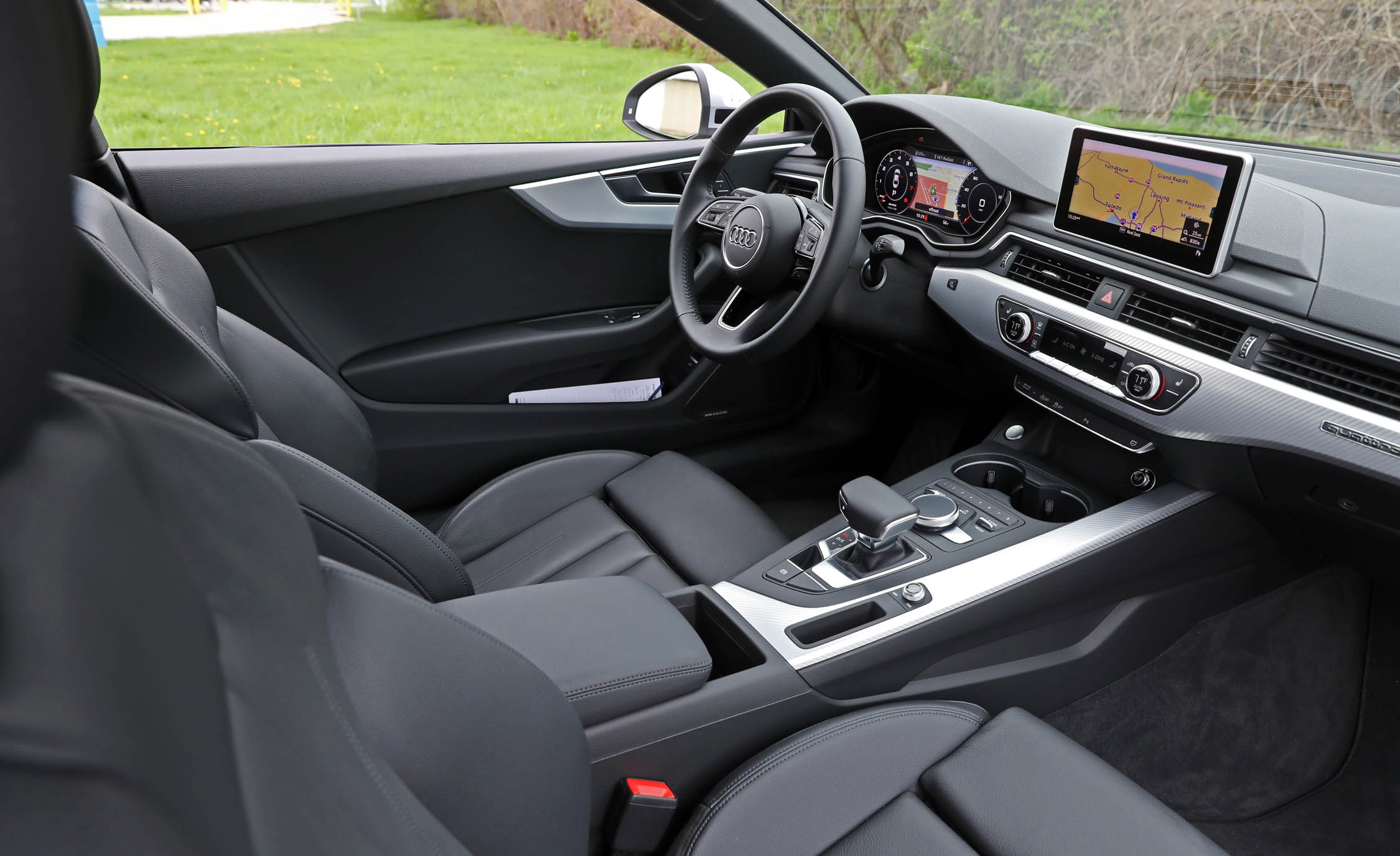 2018 Audi A5 Coupe Interior Driver Cockpit (Photo 16 of 50)